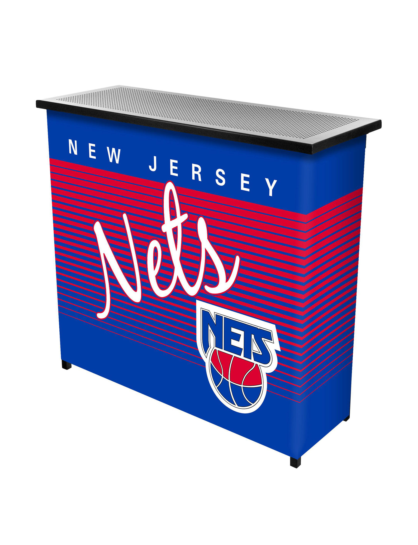 New Jersey Nets Portable Bar With Case Stage Stores