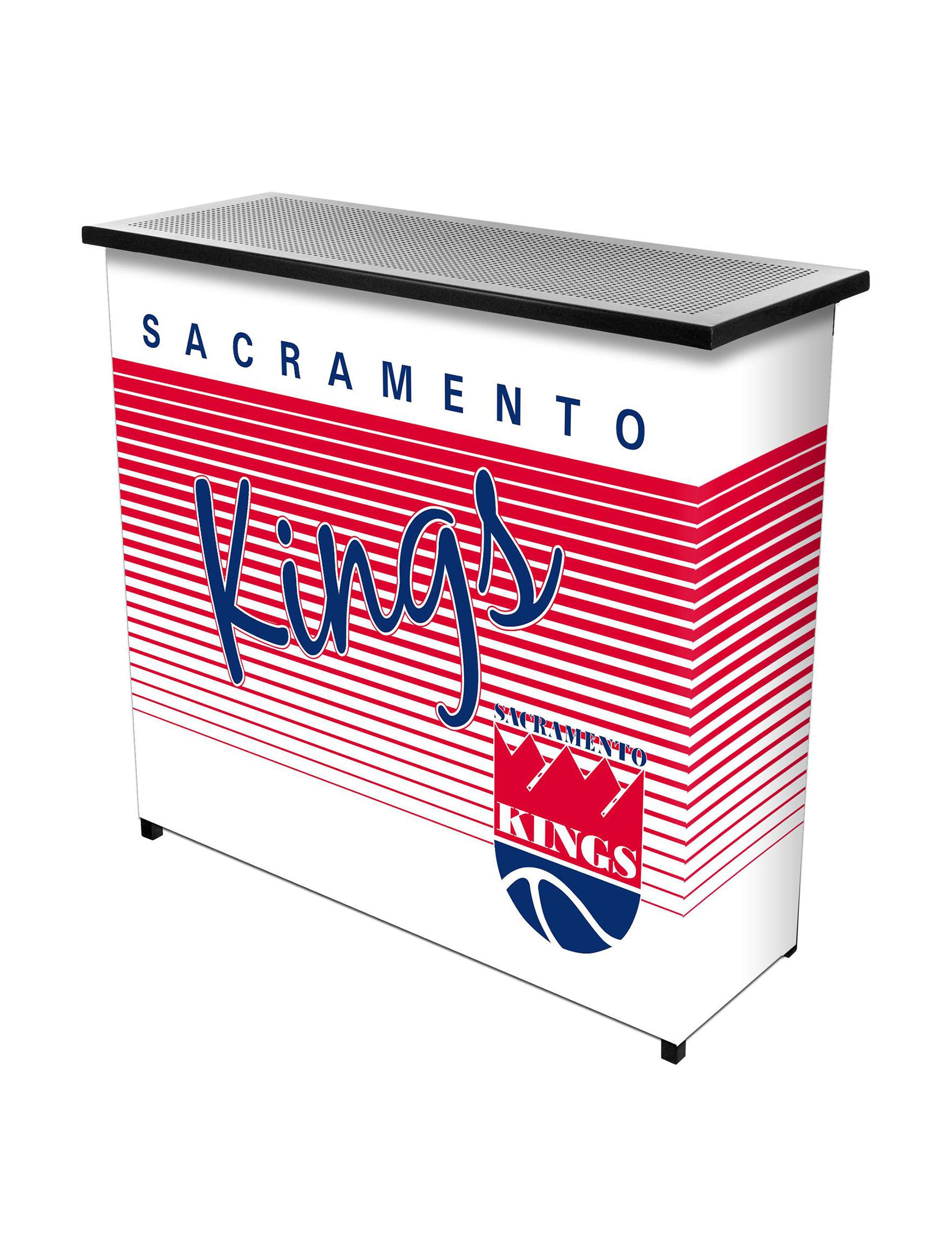 NBA Red / White / Blue Bar & Wine Storage Kitchen & Dining Furniture