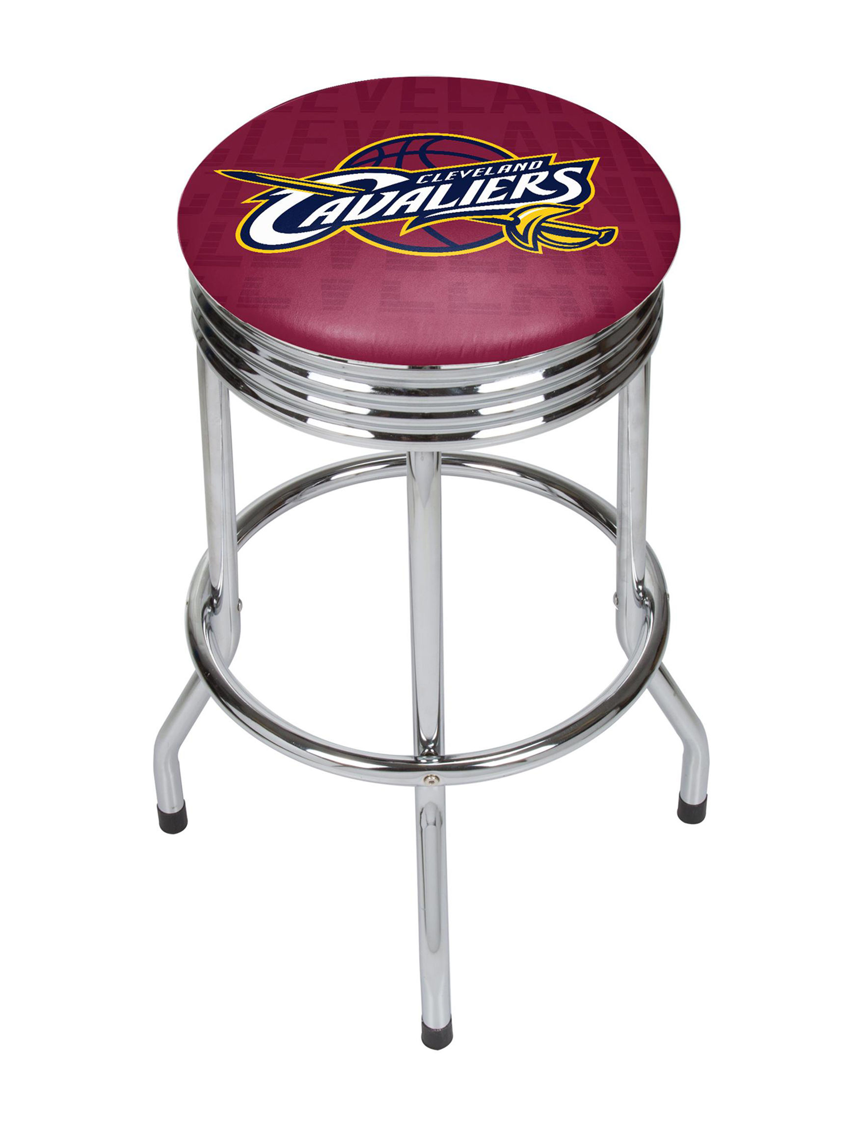 Cleveland Cavaliers Basketball Club Ribbed Bar Stool