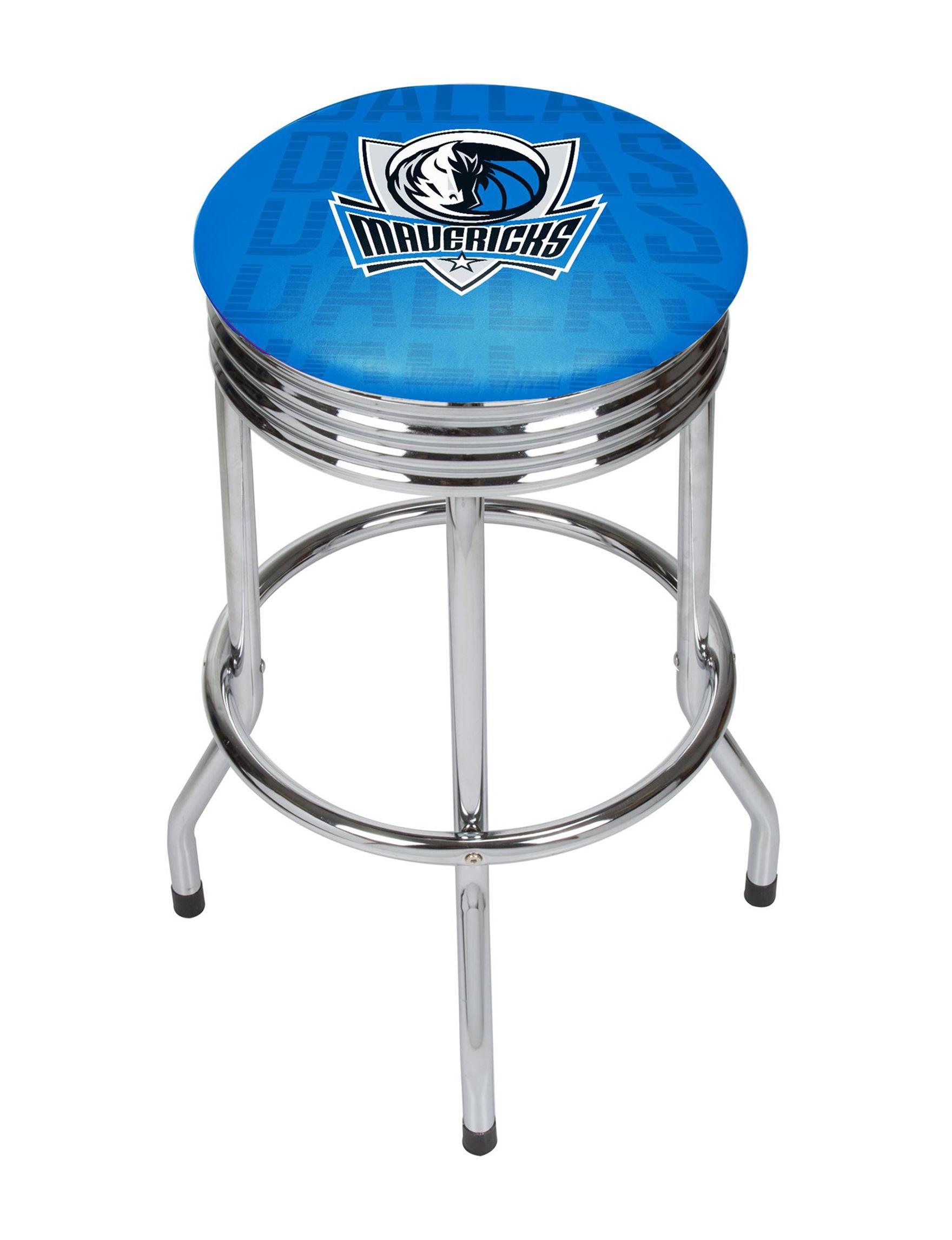 NBA Blue / White Bar & Kitchen Stools Kitchen & Dining Furniture NBA