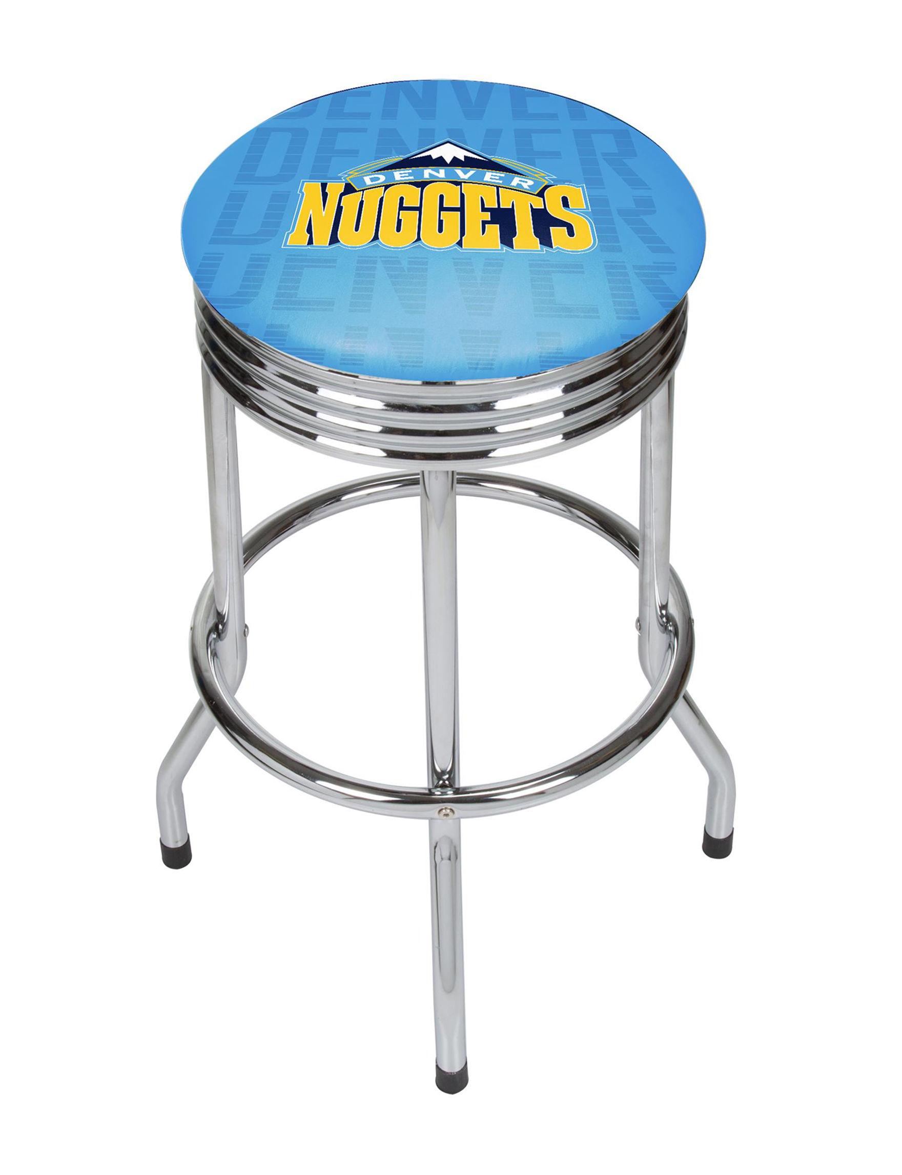 NBA Blue / Yellow Bar & Kitchen Stools Kitchen & Dining Furniture