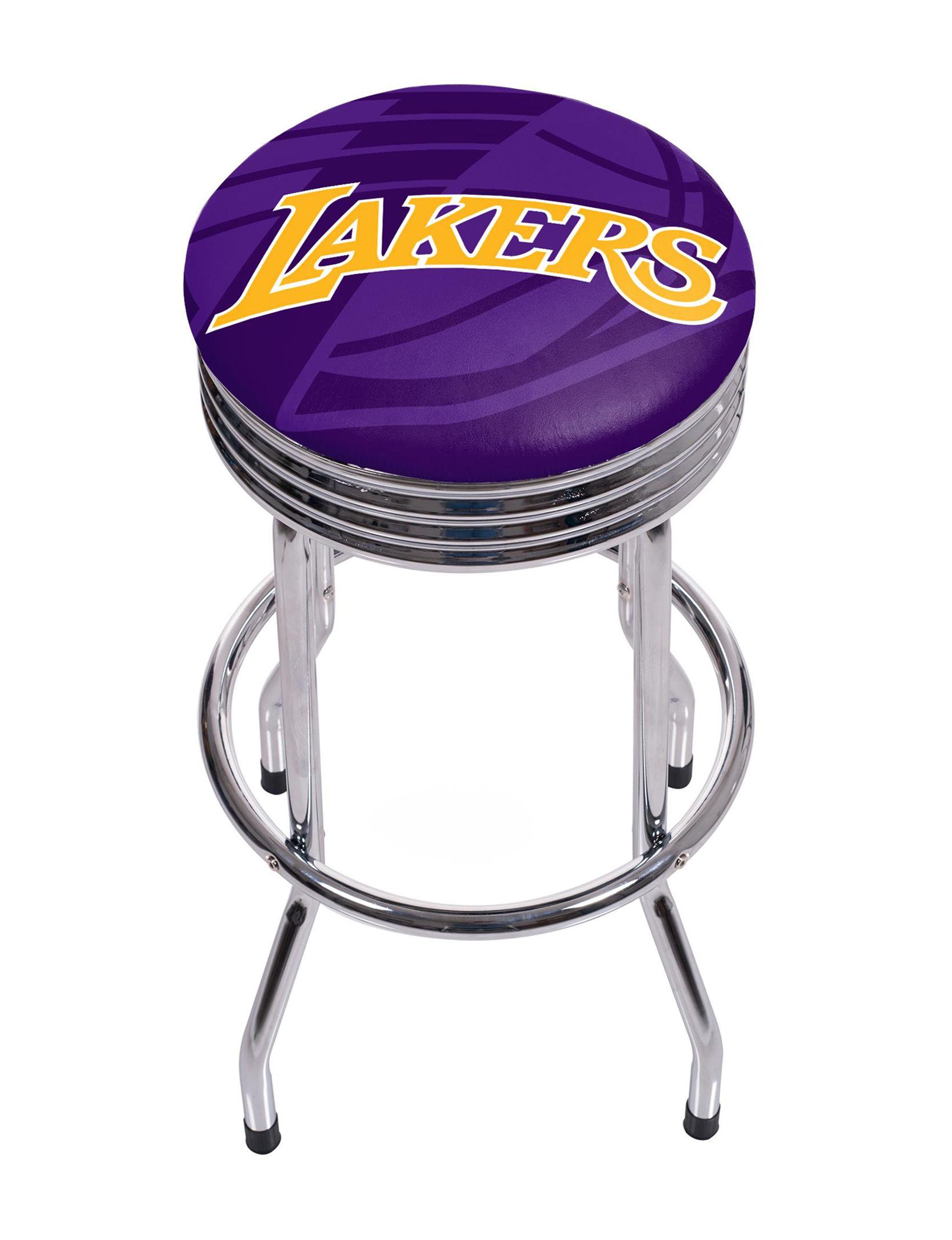 NBA Purple / Gold Bar & Kitchen Stools Kitchen & Dining Furniture
