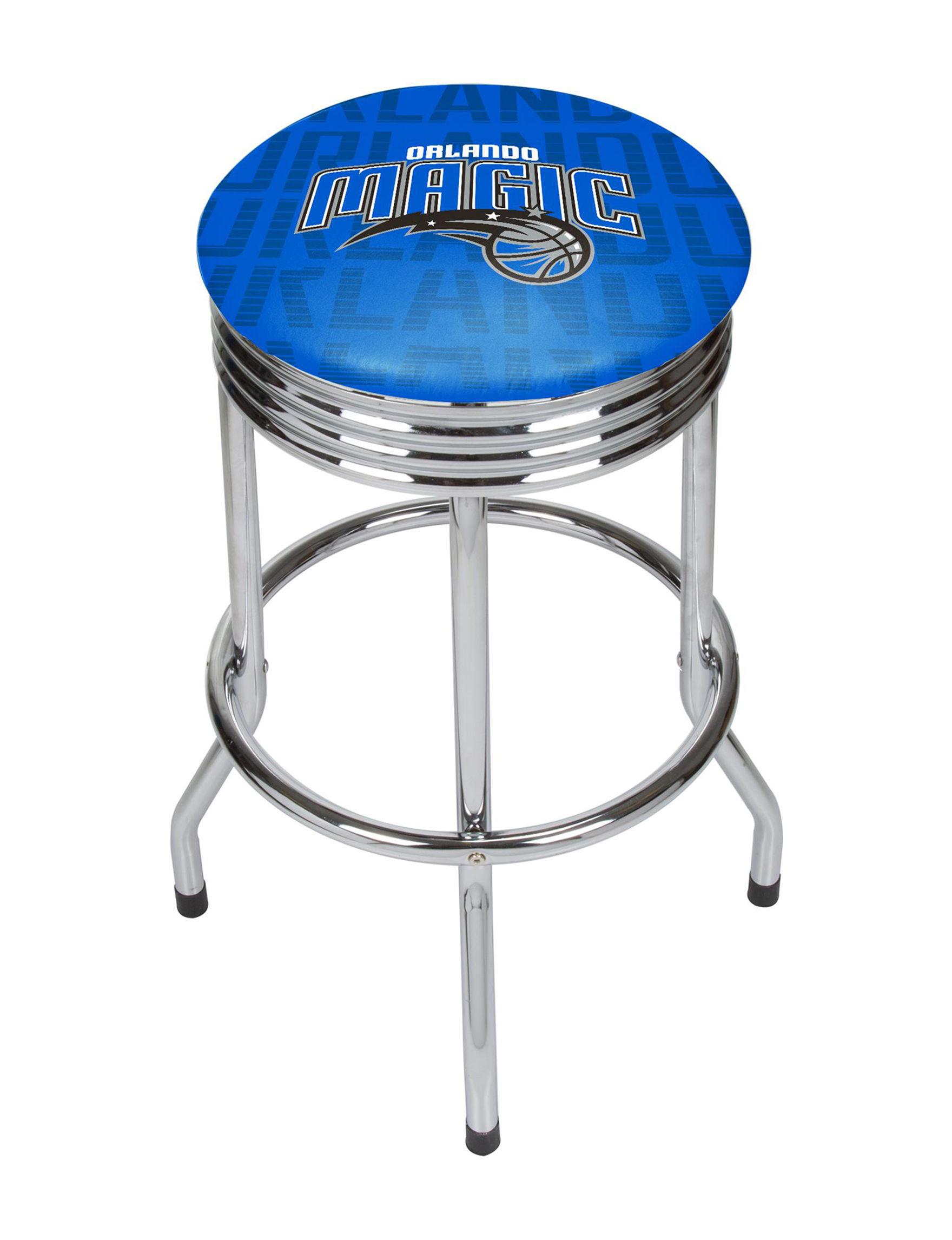 NBA Blue / White / Black Bar & Kitchen Stools Kitchen & Dining Furniture