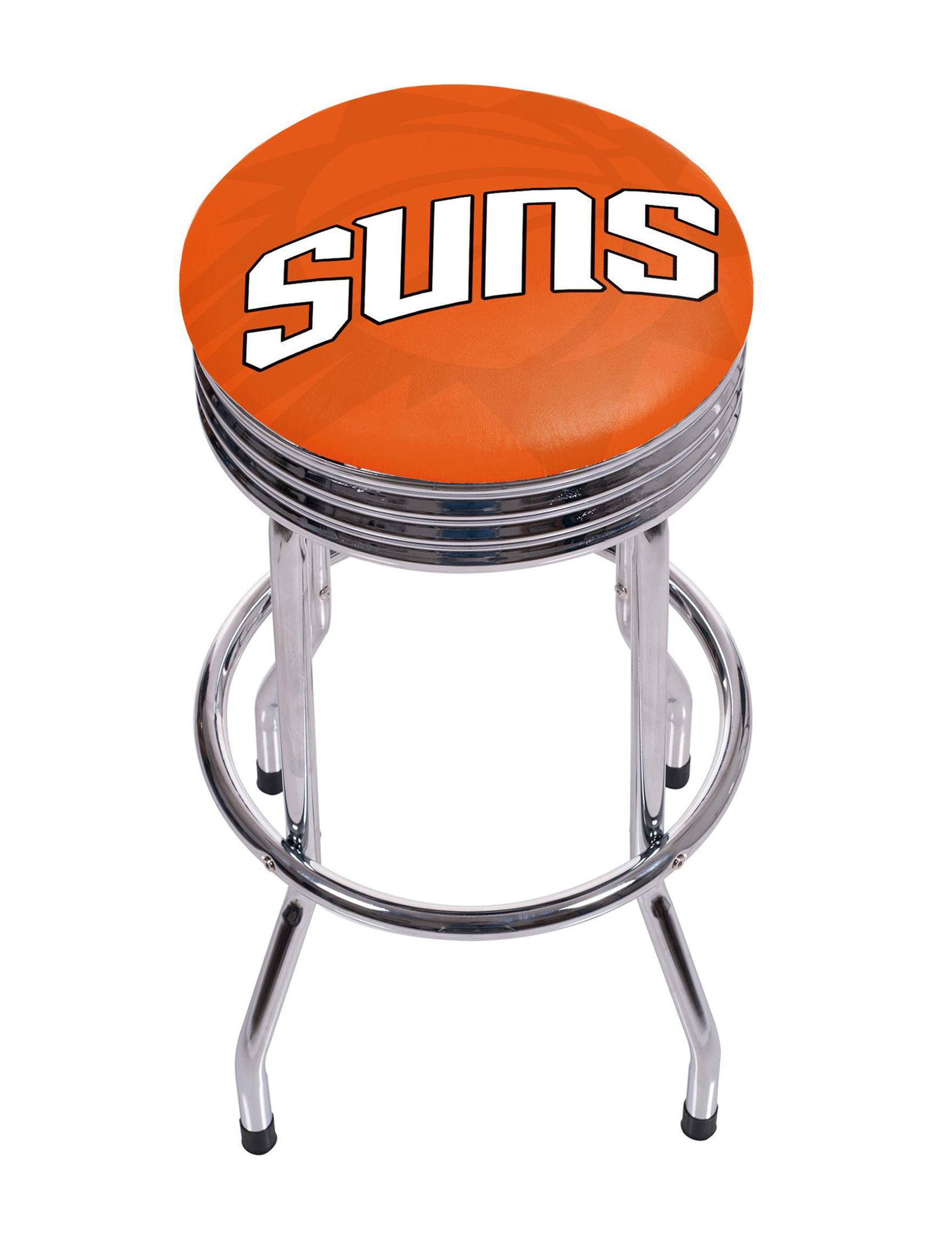 NBA Orange / White Bar & Kitchen Stools Kitchen & Dining Furniture