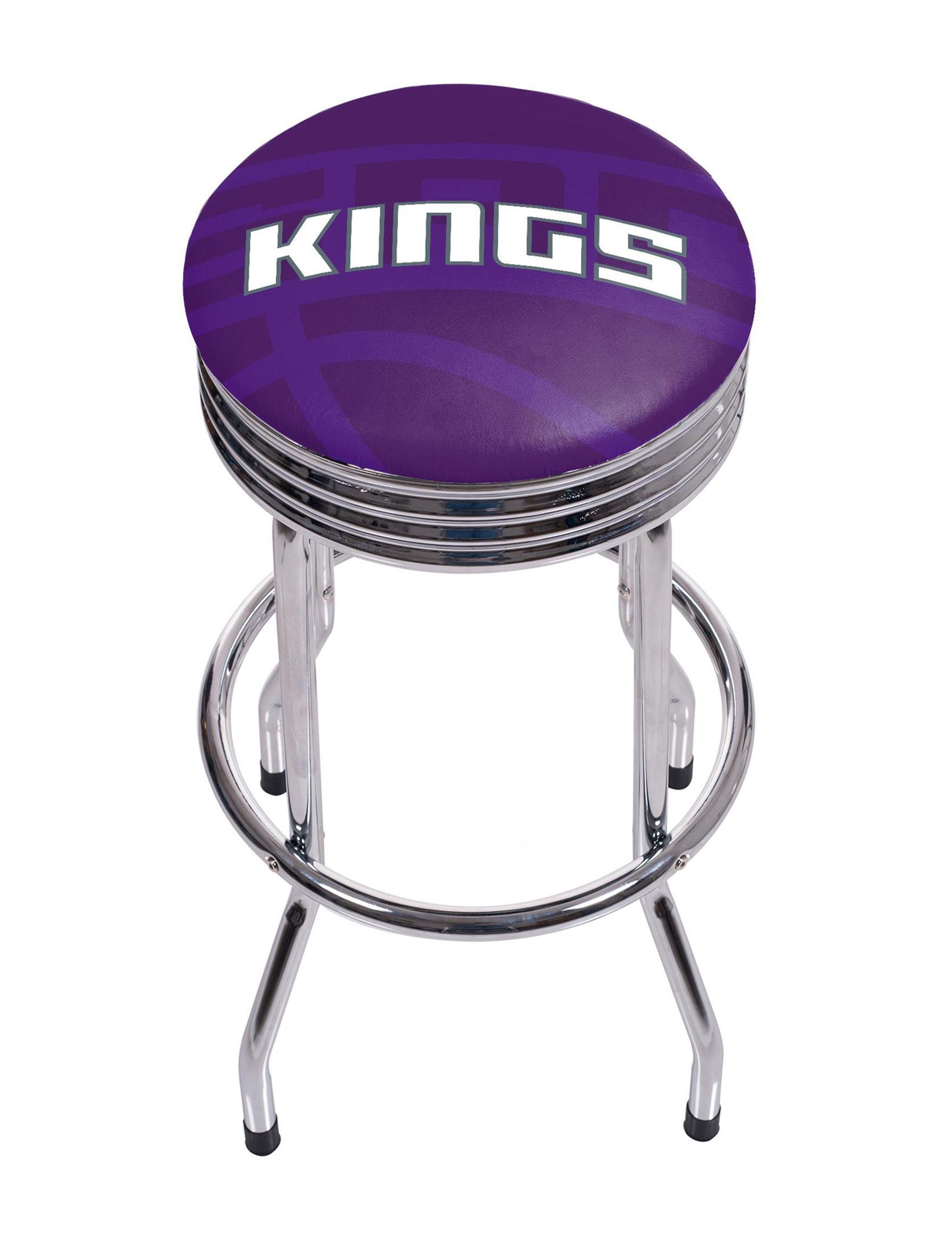 NBA Purple / White Bar & Kitchen Stools Kitchen & Dining Furniture