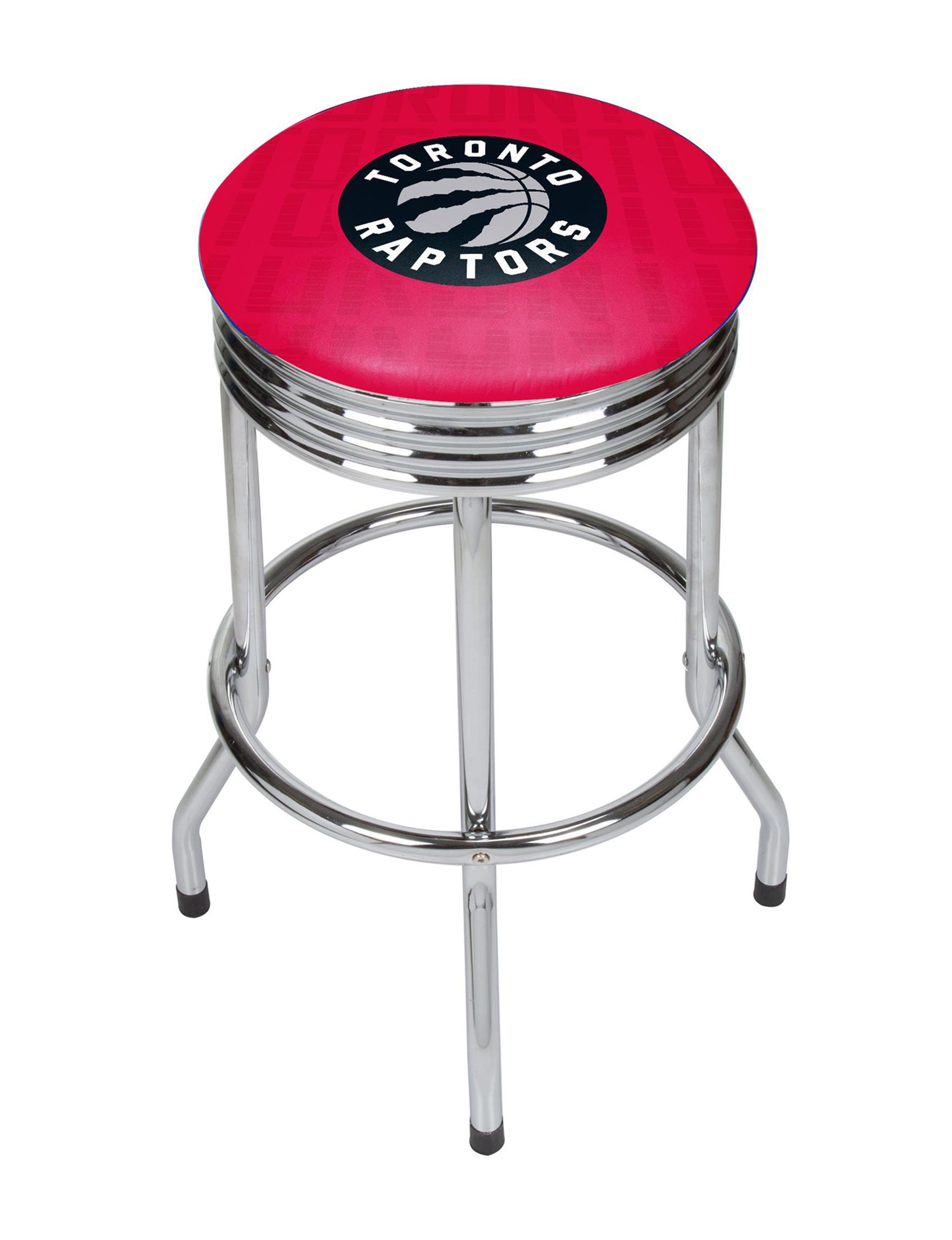 NBA Red / Black / White Bar & Kitchen Stools Kitchen & Dining Furniture