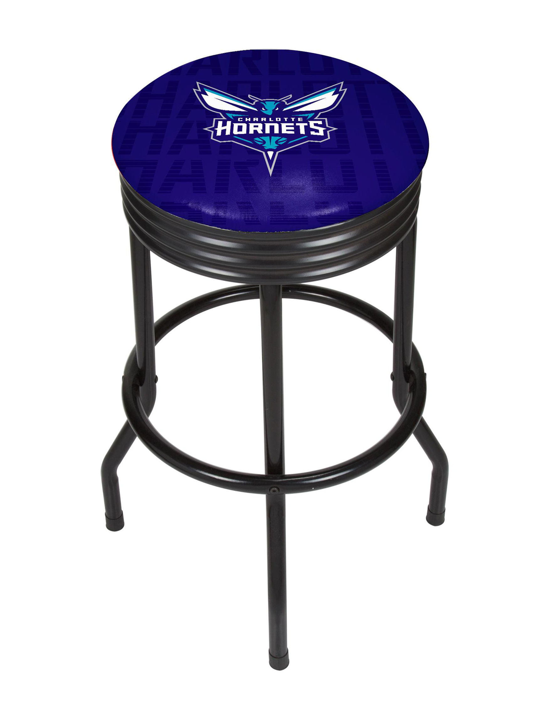 NBA Purple / Teal Bar & Kitchen Stools Kitchen & Dining Furniture