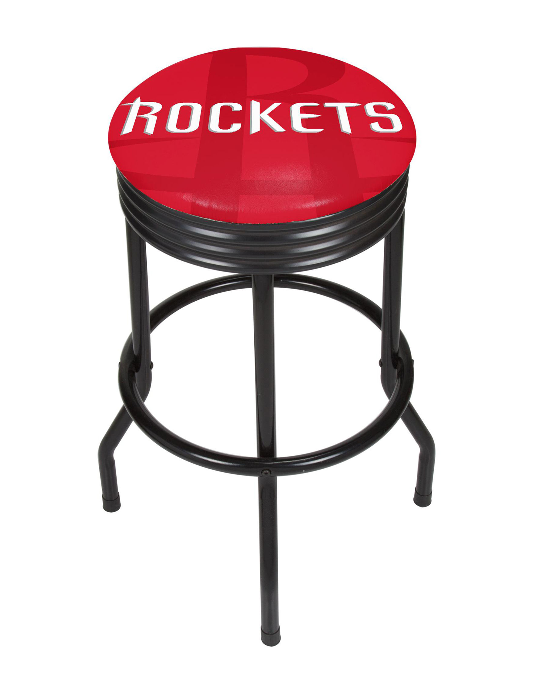 NBA Red / White Bar & Kitchen Stools Kitchen & Dining Furniture