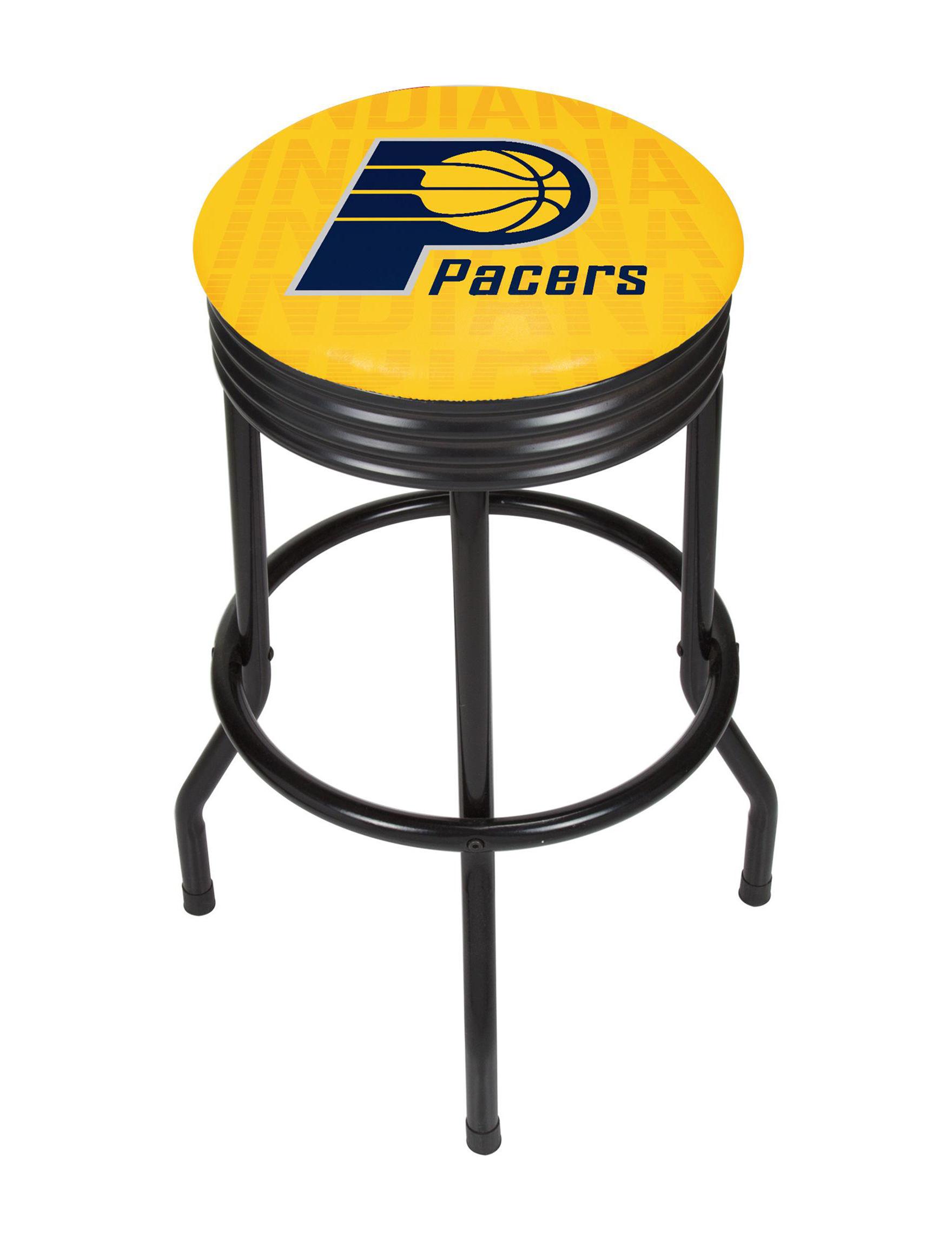 NBA Yellow / Navy Bar & Kitchen Stools Kitchen & Dining Furniture NBA