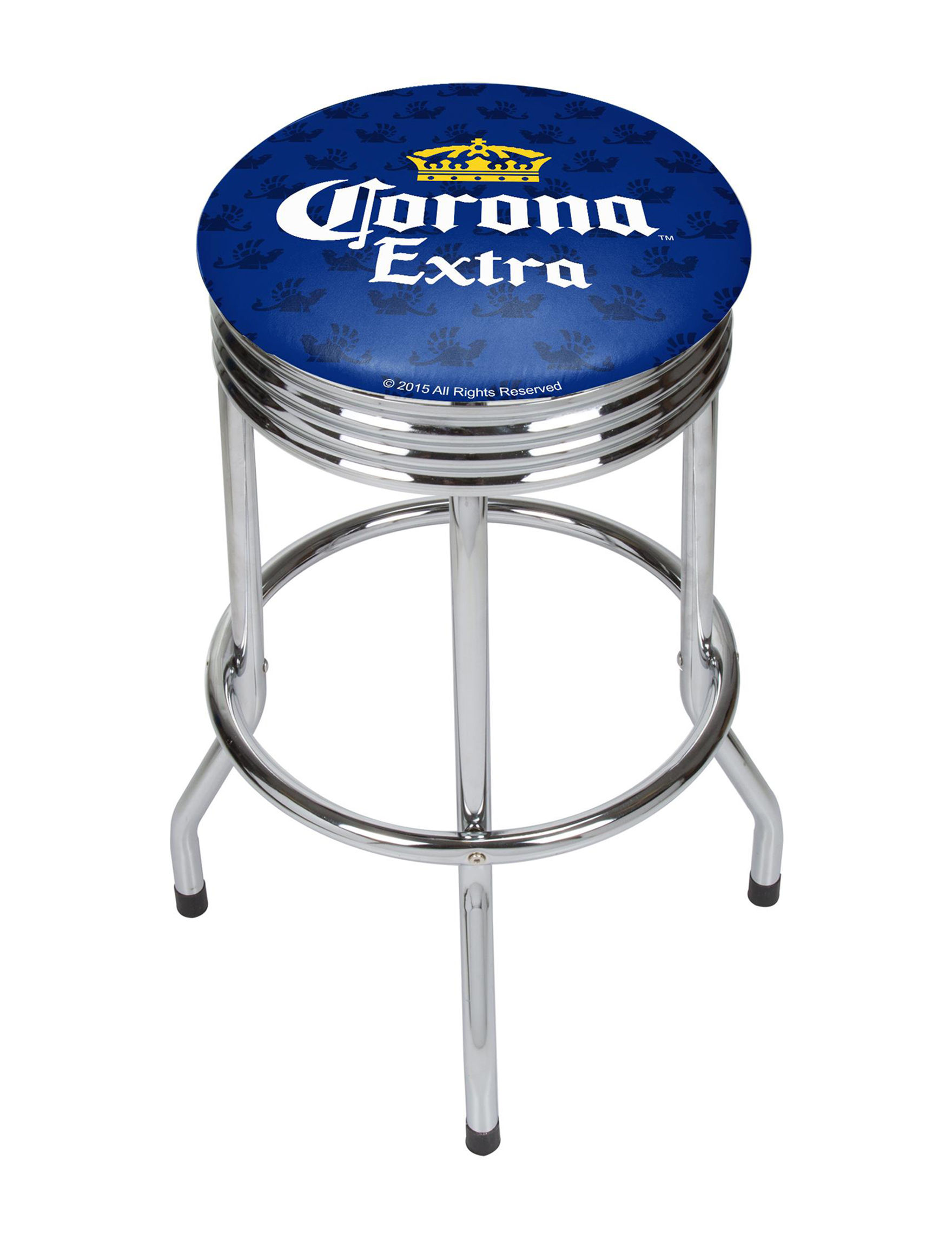 Corona Griffin Chrome Bar Stool Stage Stores