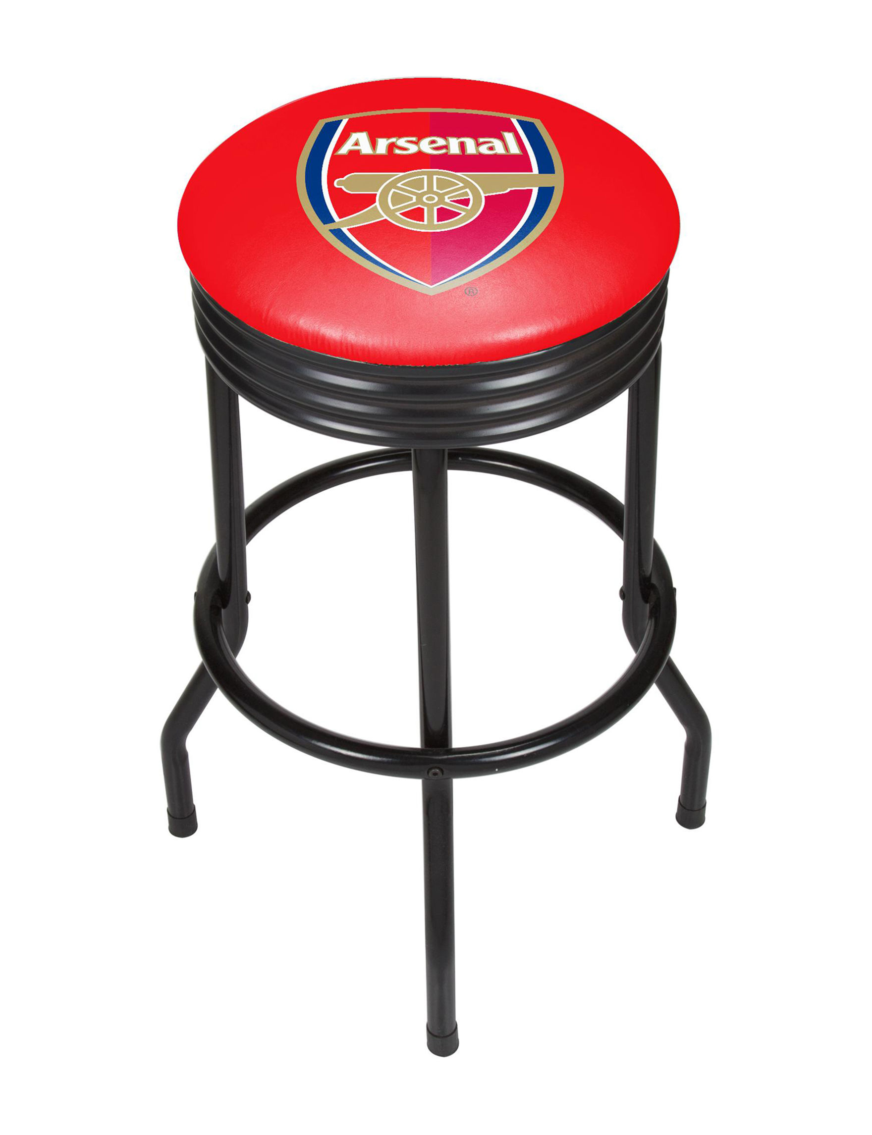 Trademark Global Red / White / Blue Bar & Kitchen Stools Kitchen & Dining Furniture