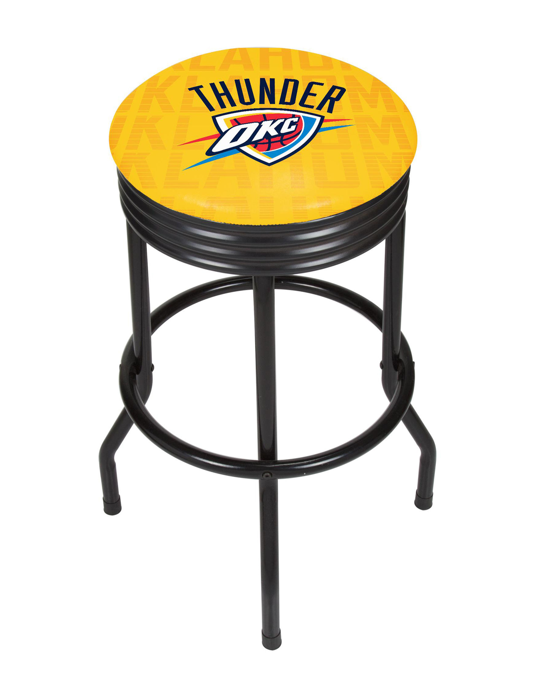 NBA Yellow / Blue Bar & Kitchen Stools Kitchen & Dining Furniture