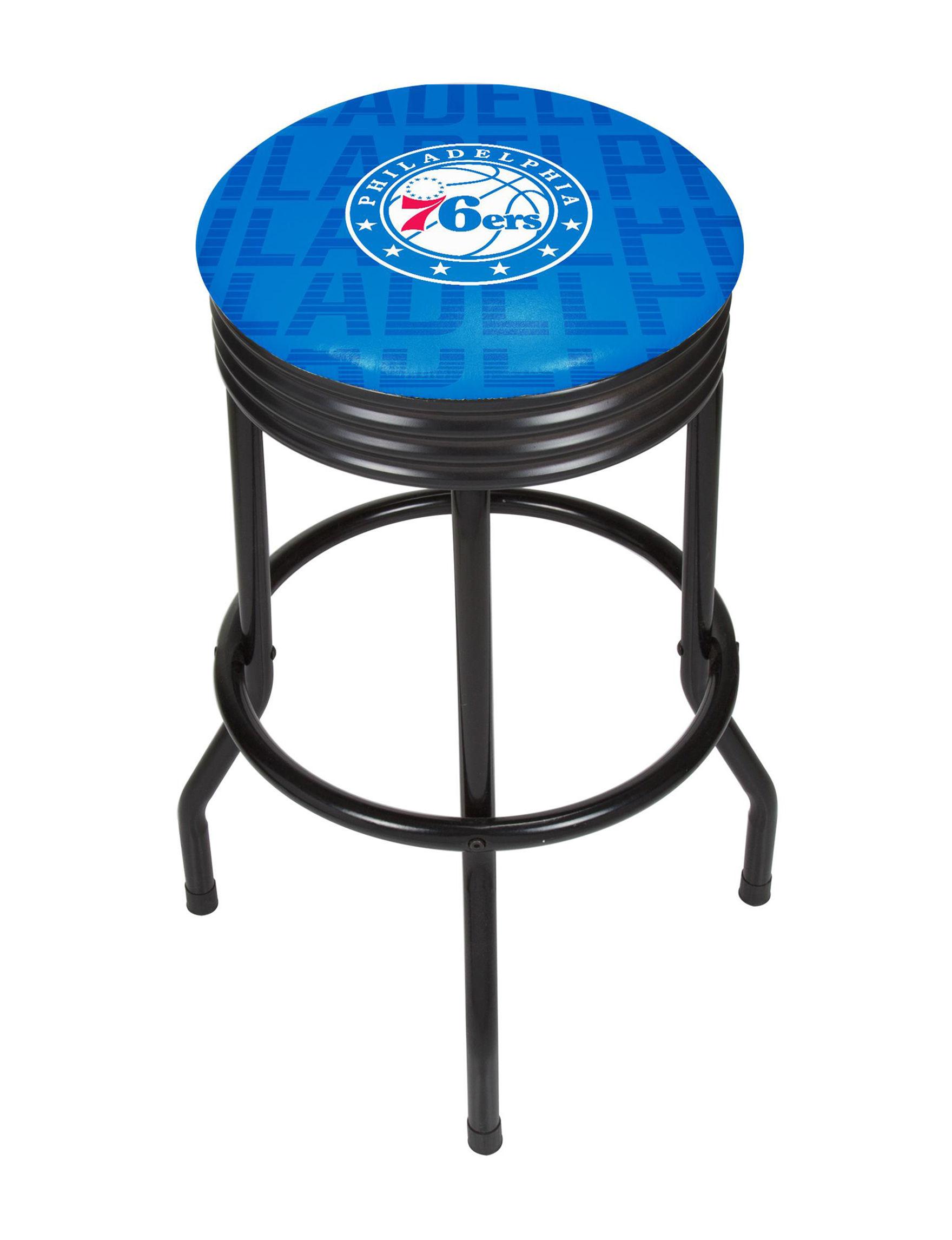 NBA Red / White / Blue Bar & Kitchen Stools Kitchen & Dining Furniture