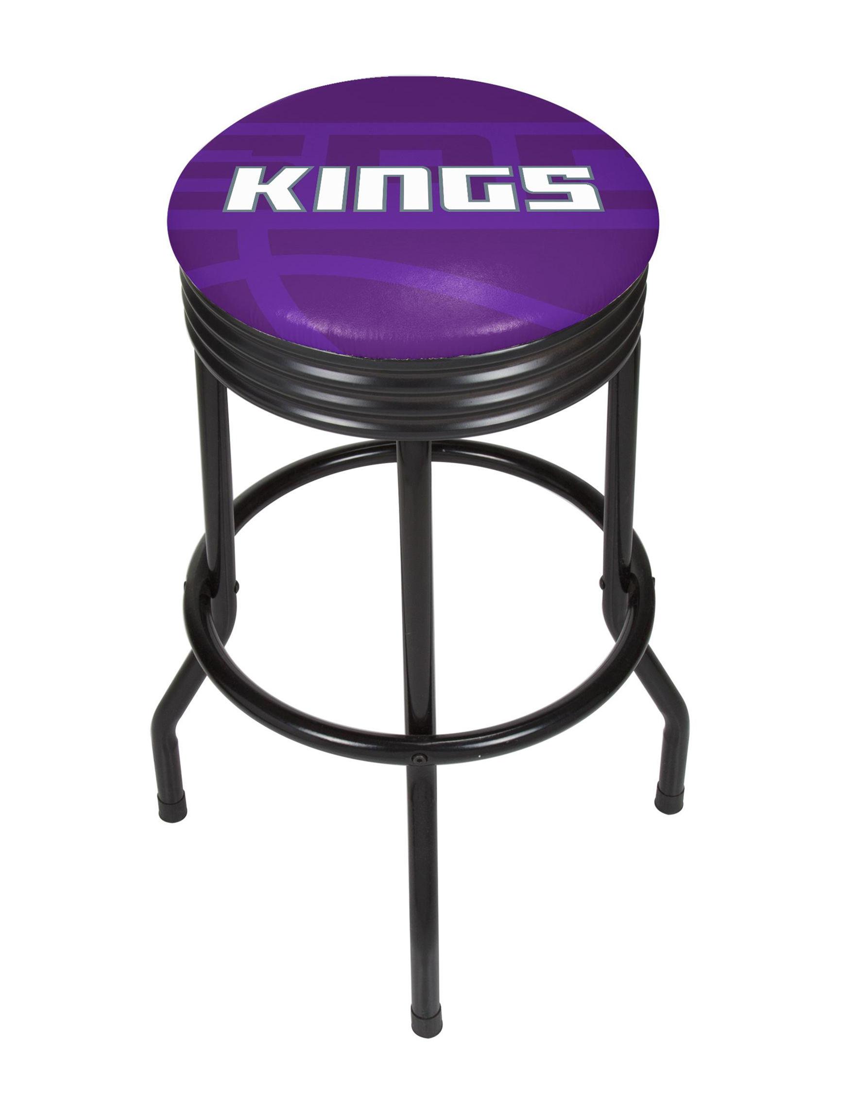 NBA Purple / White Bar & Kitchen Stools Kitchen & Dining Furniture NBA