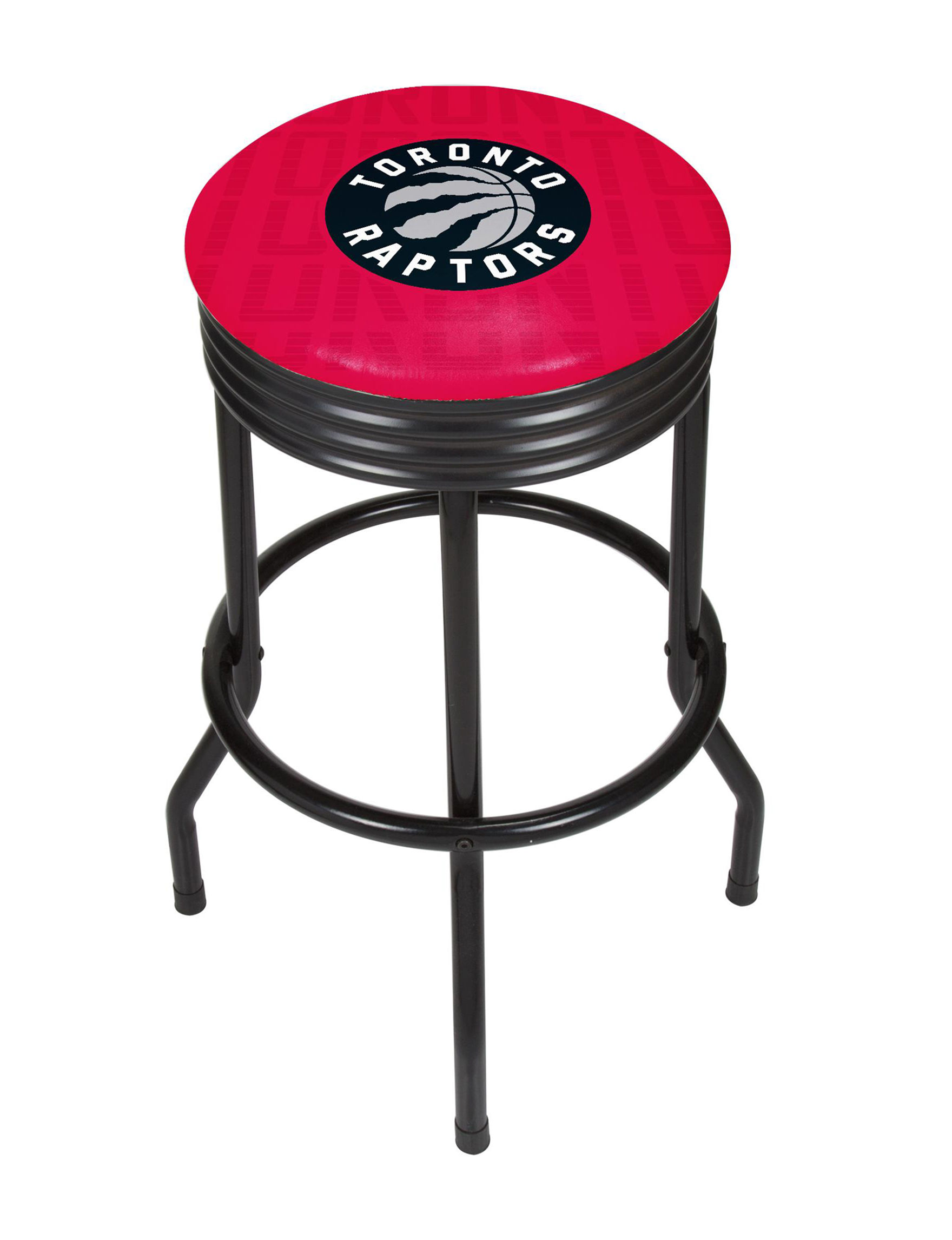 NBA Red / Black / White Bar & Kitchen Stools Kitchen & Dining Furniture NBA