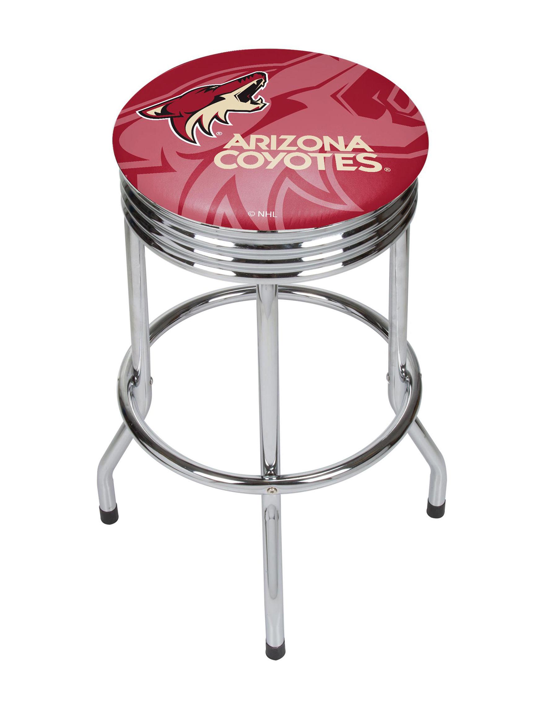 NHL Brick Red Bar & Kitchen Stools Kitchen & Dining Furniture