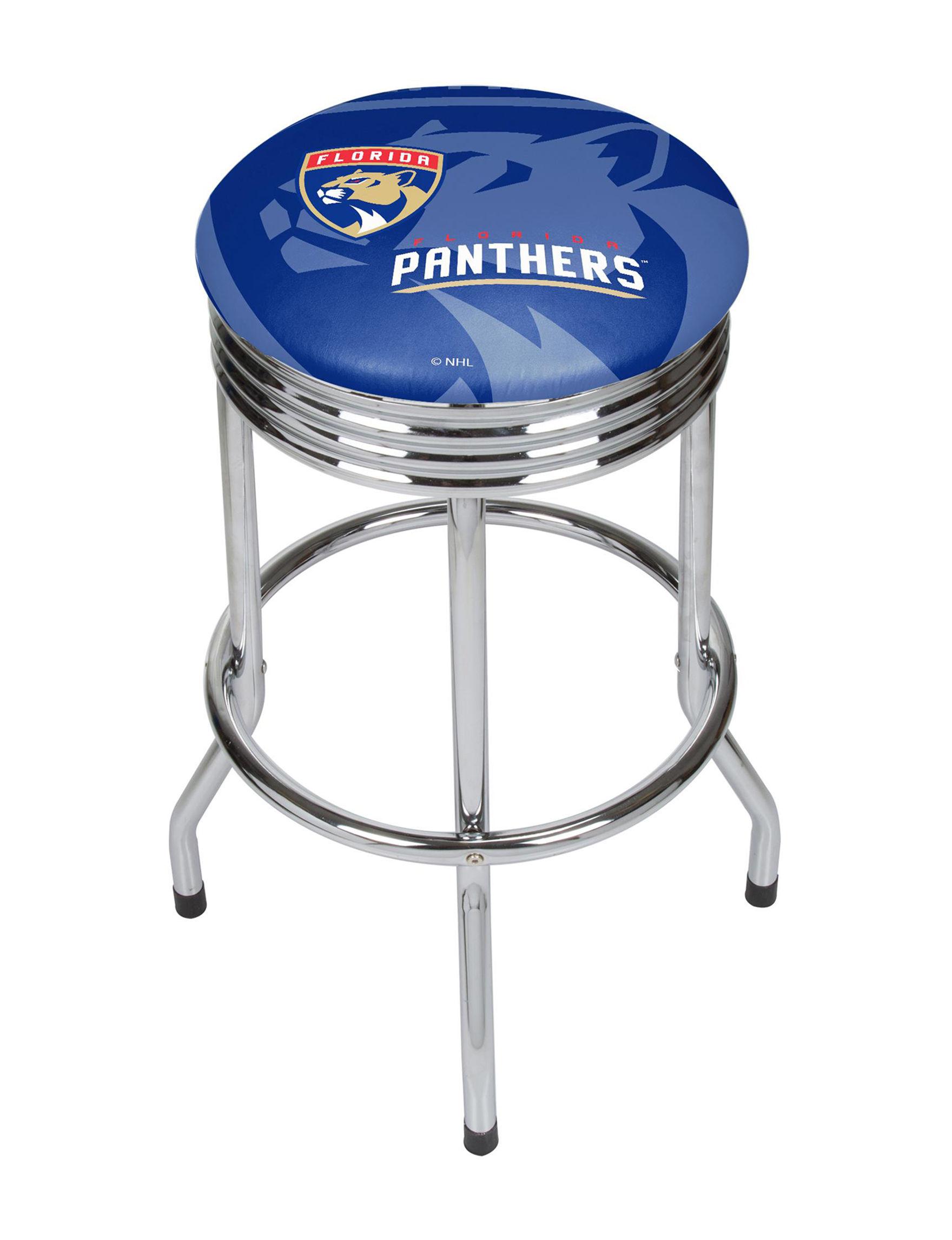 NHL Red / White / Blue Bar & Kitchen Stools Kitchen & Dining Furniture