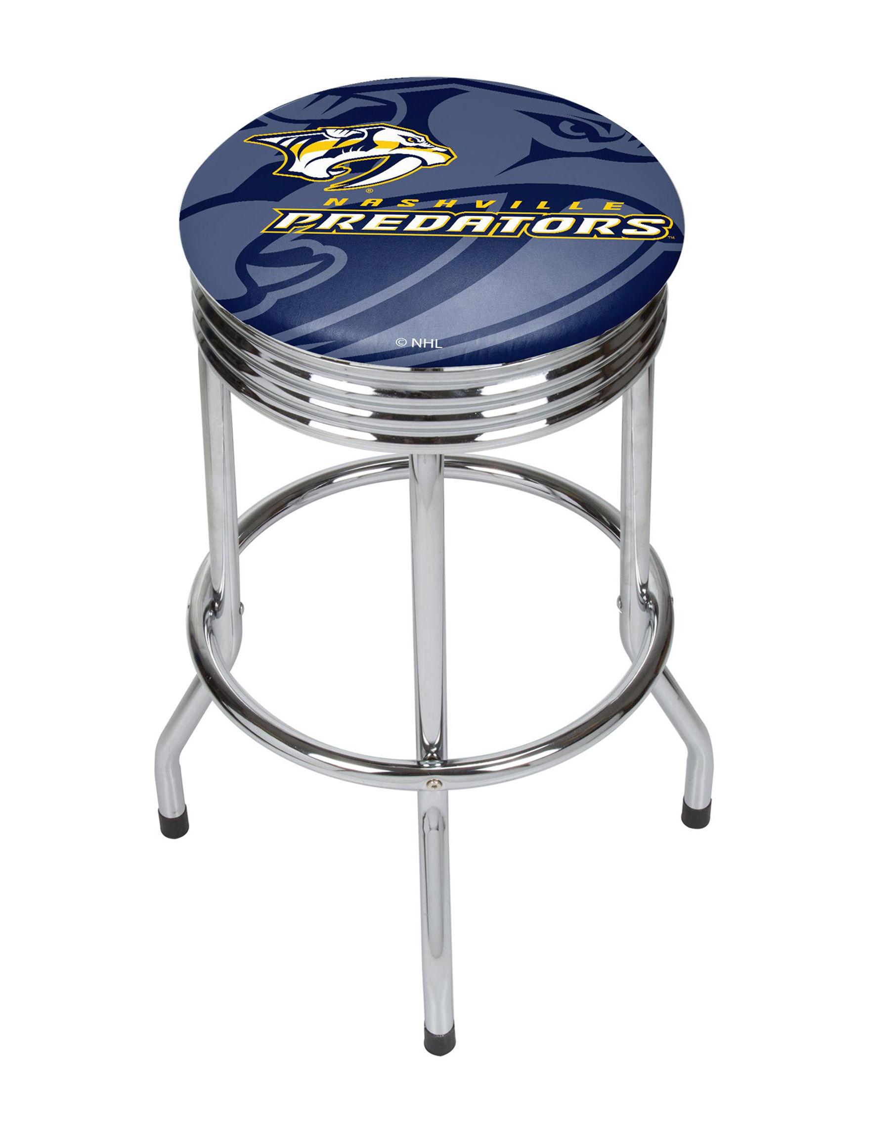 NHL Navy / Yellow Bar & Kitchen Stools Kitchen & Dining Furniture NHL