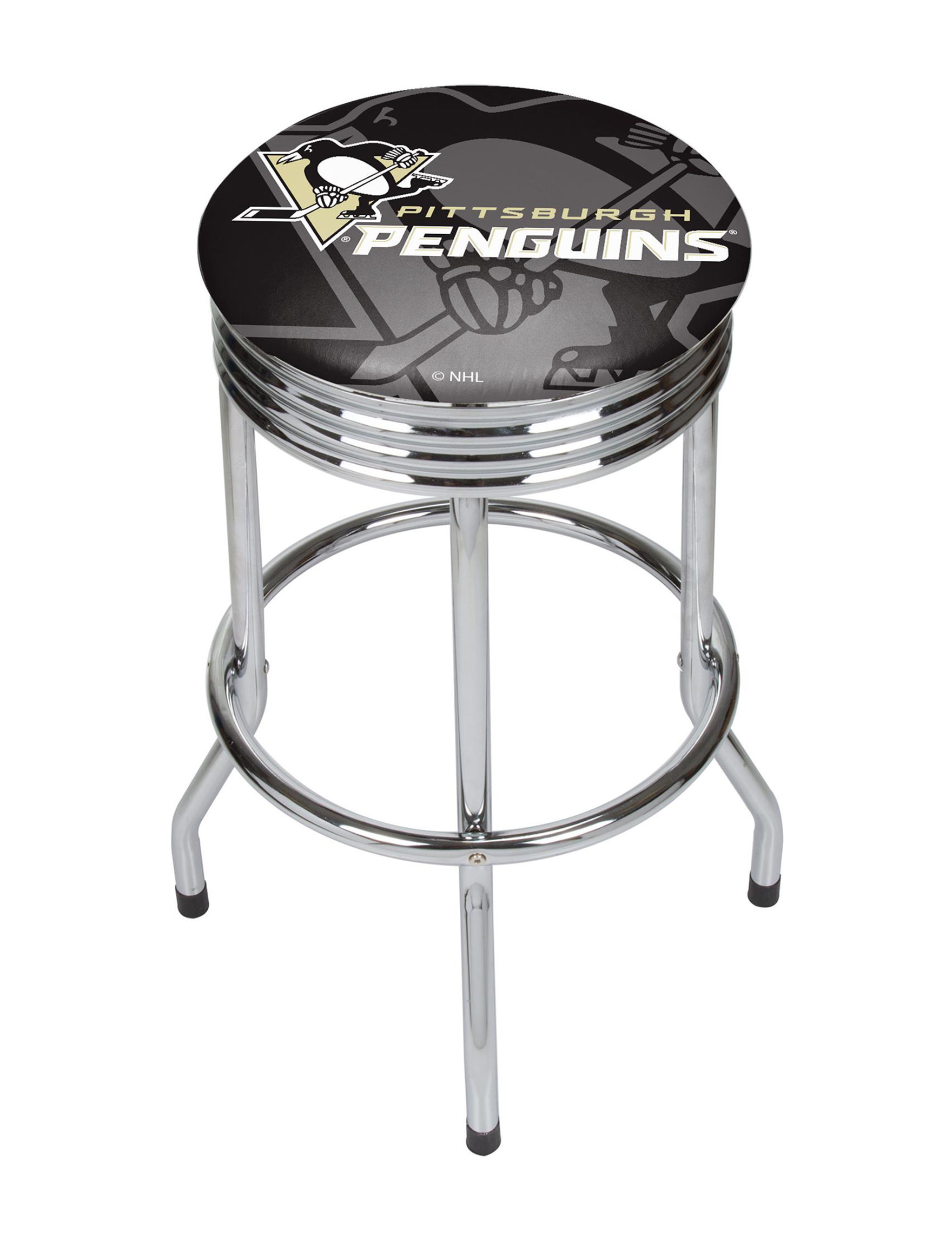 NHL Black /  White Bar & Kitchen Stools Kitchen & Dining Furniture