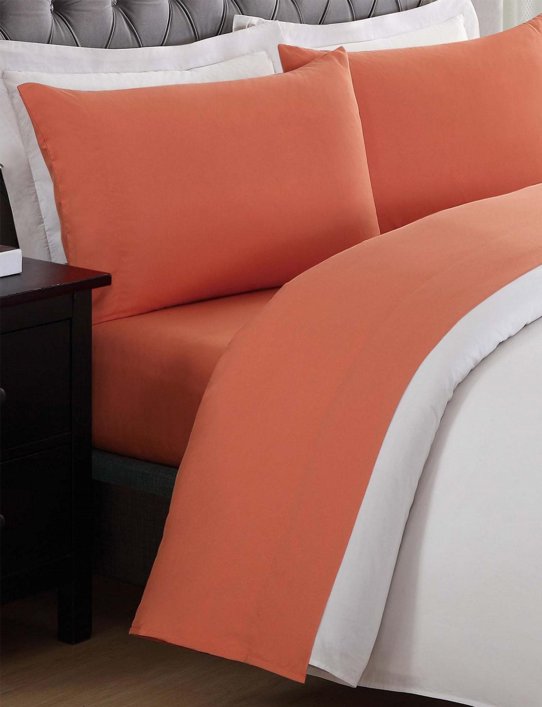 Laura Hart Kids Orange Sheets & Pillowcases