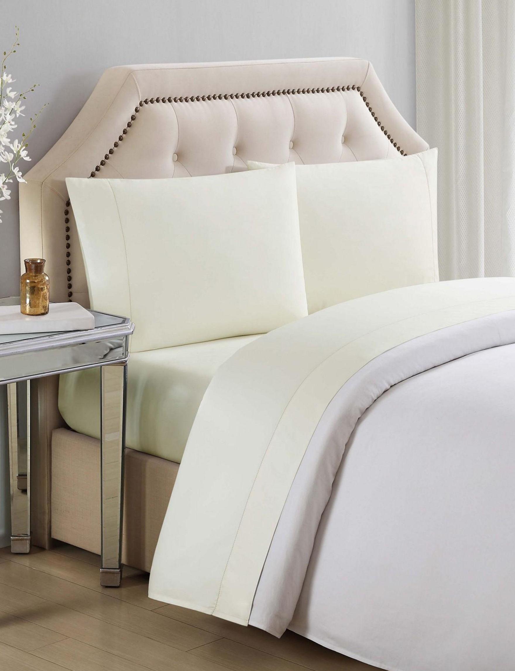 Charisma Yellow Sheets & Pillowcases