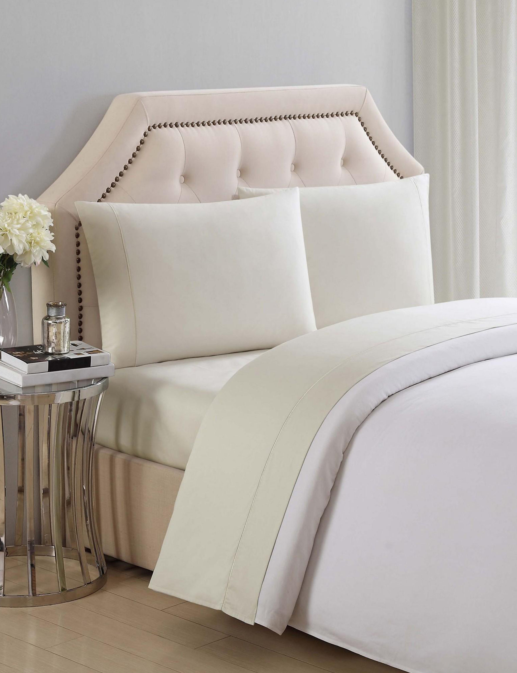 Charisma Beige Sheets & Pillowcases