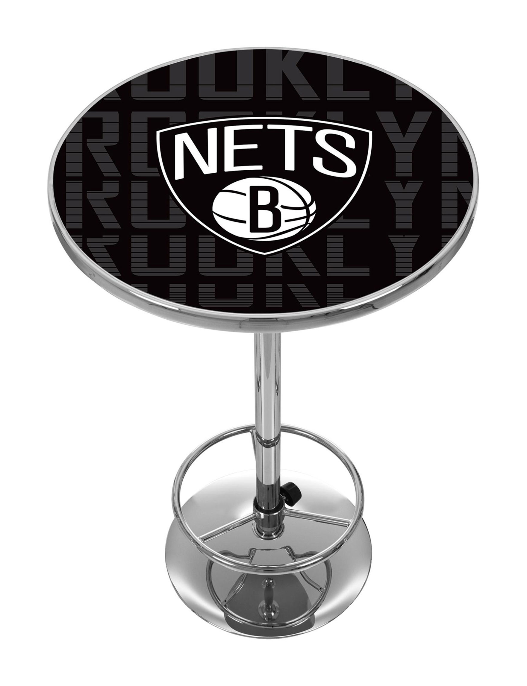 NBA Black / White Dining Tables Kitchen & Dining Furniture