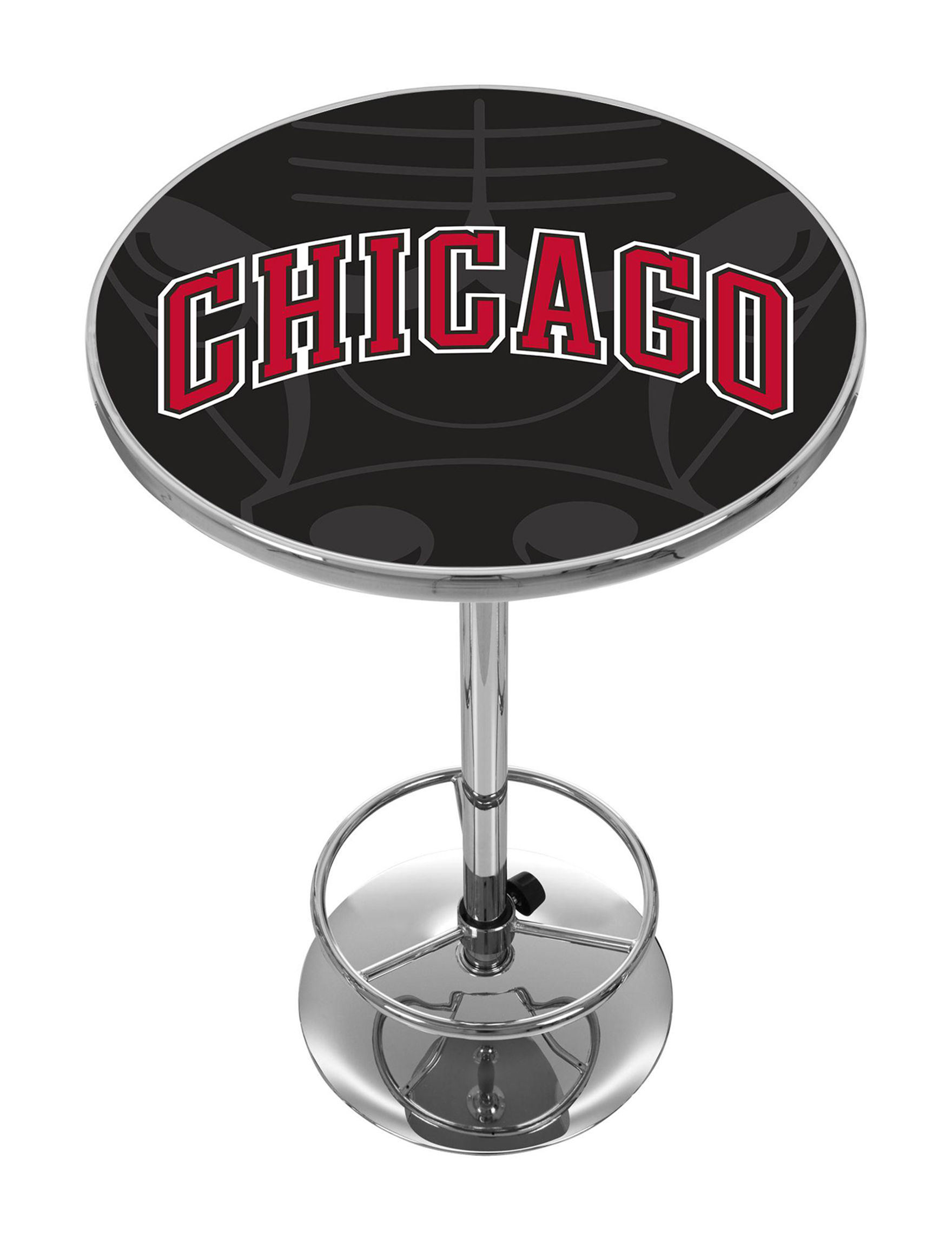 NBA Red / Black / White Dining Tables Kitchen & Dining Furniture