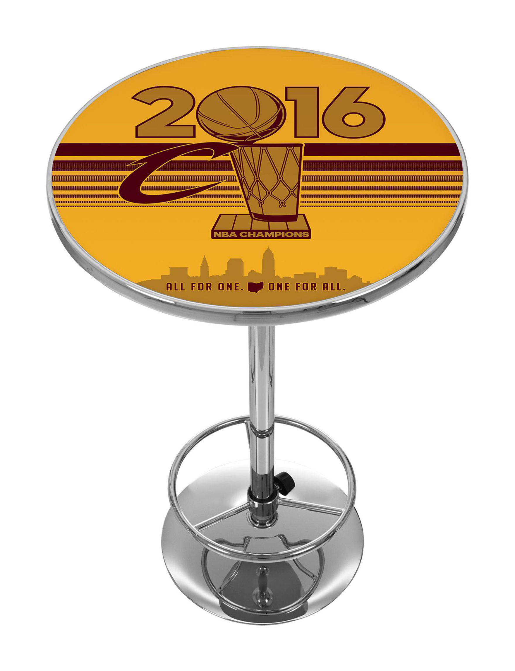 NBA Red / Gold Dining Tables Kitchen & Dining Furniture
