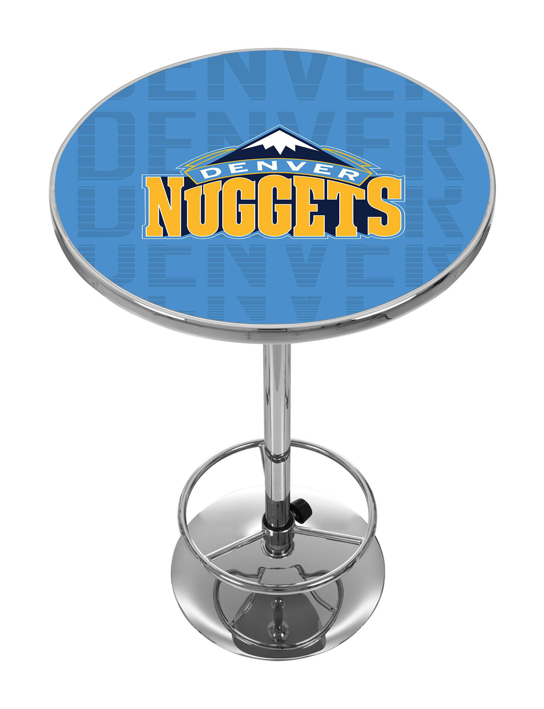 NBA Blue / Yellow Dining Tables Kitchen & Dining Furniture