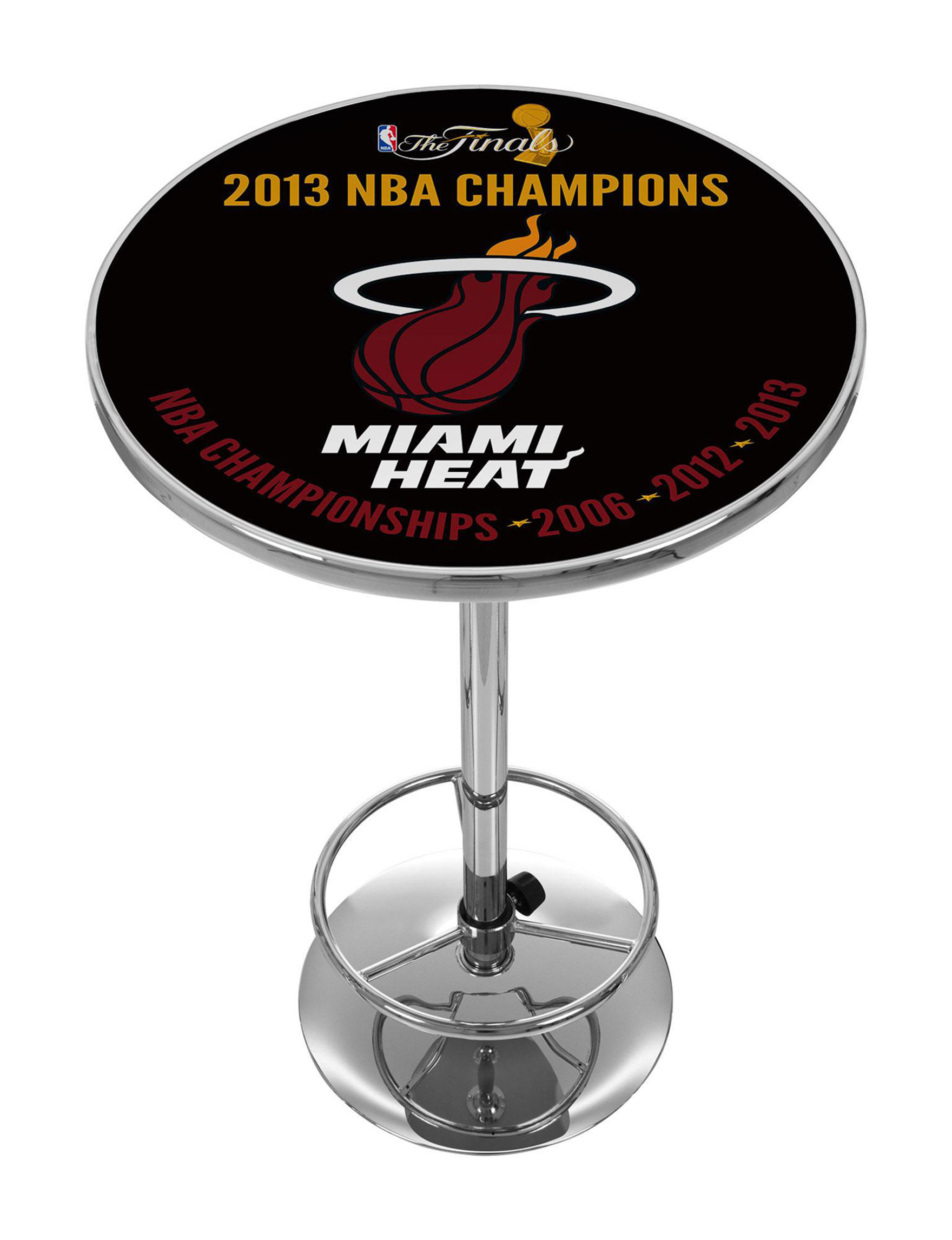 NBA Black / Red Dining Tables Kitchen & Dining Furniture NBA