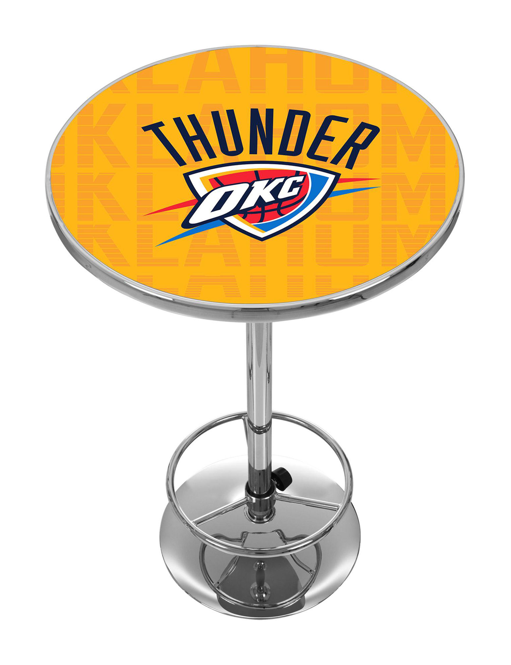 NBA Yellow / Blue Dining Tables Kitchen & Dining Furniture