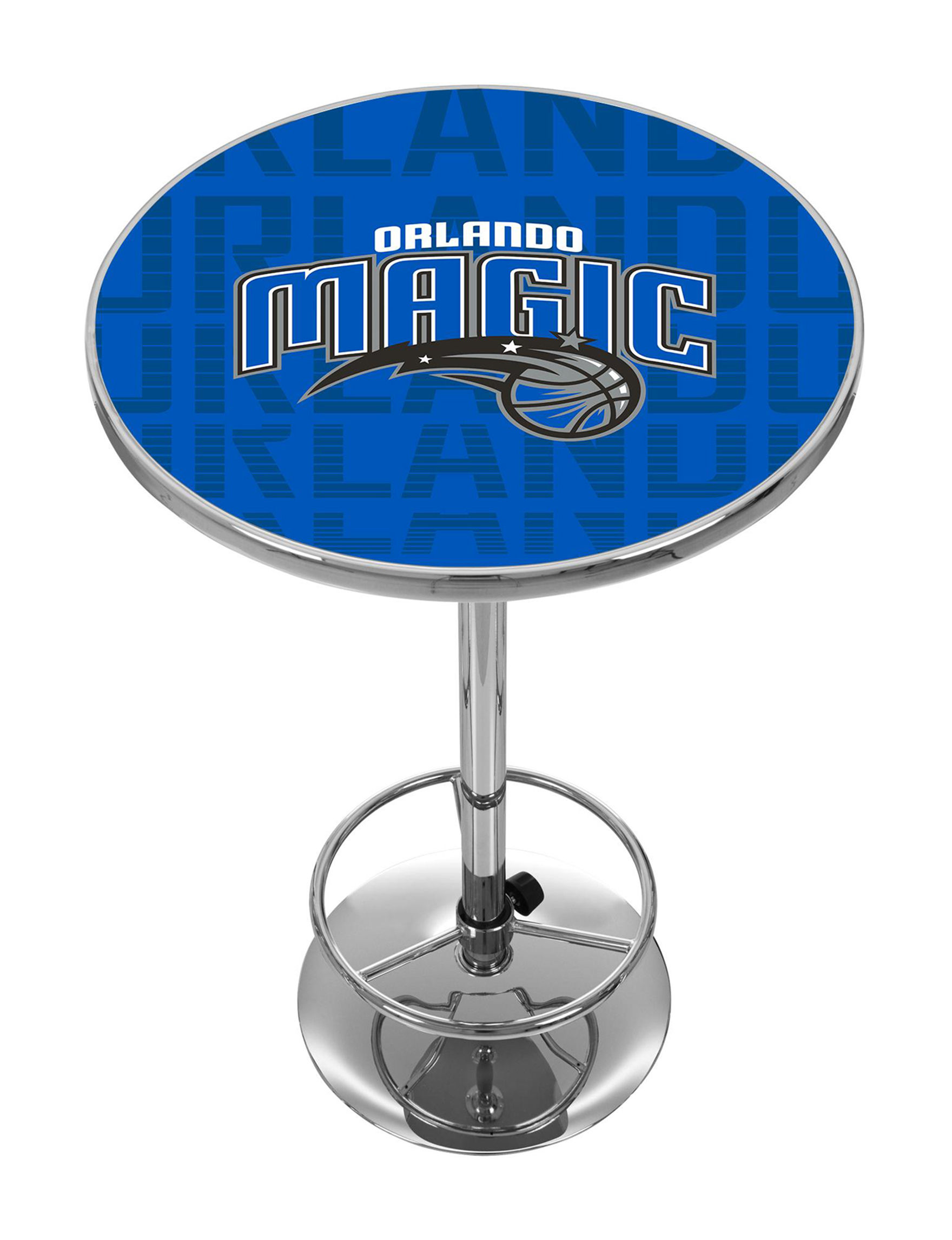 NBA Blue / White / Black Dining Tables Kitchen & Dining Furniture NBA