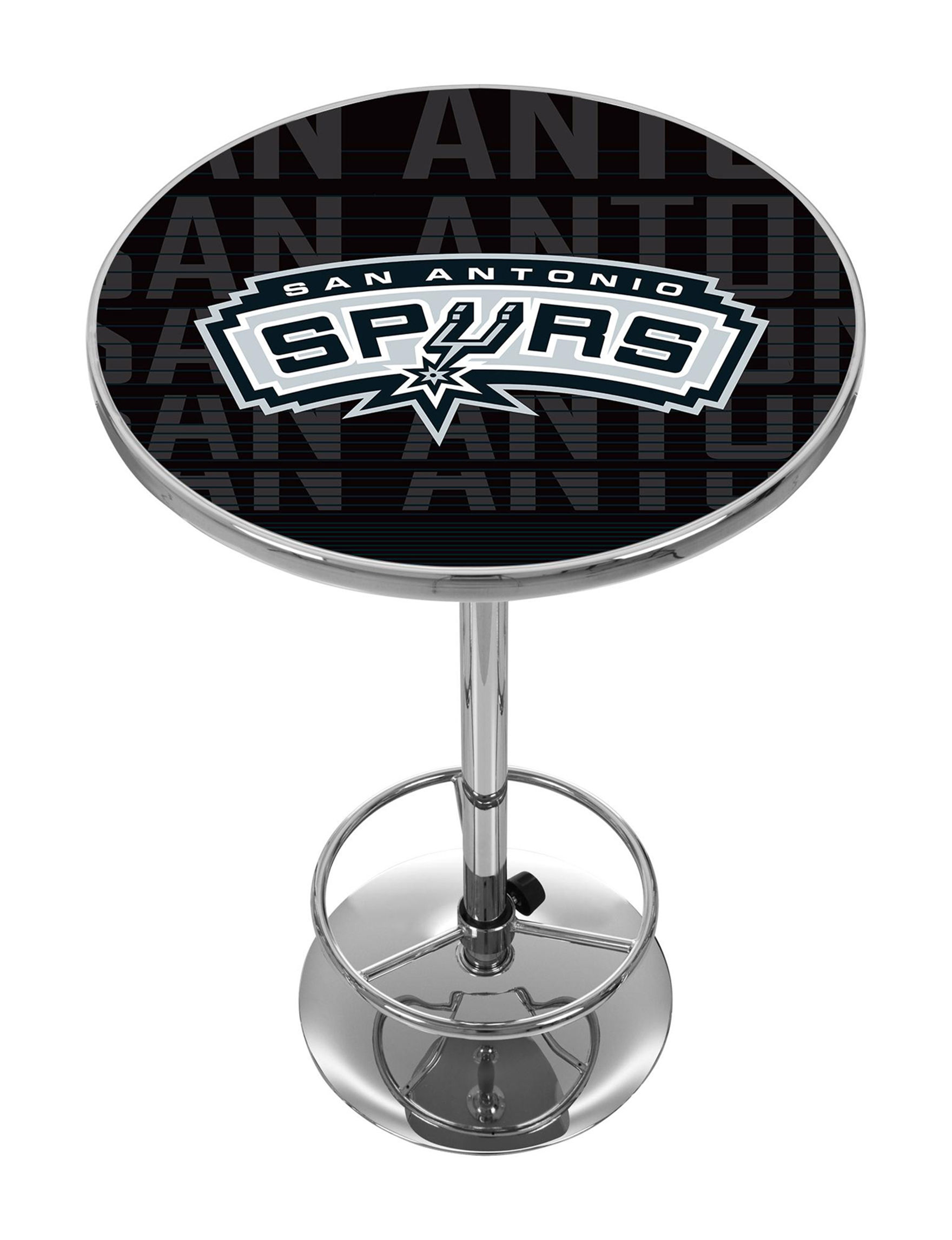 NBA Black / Silver / White Dining Tables Kitchen & Dining Furniture