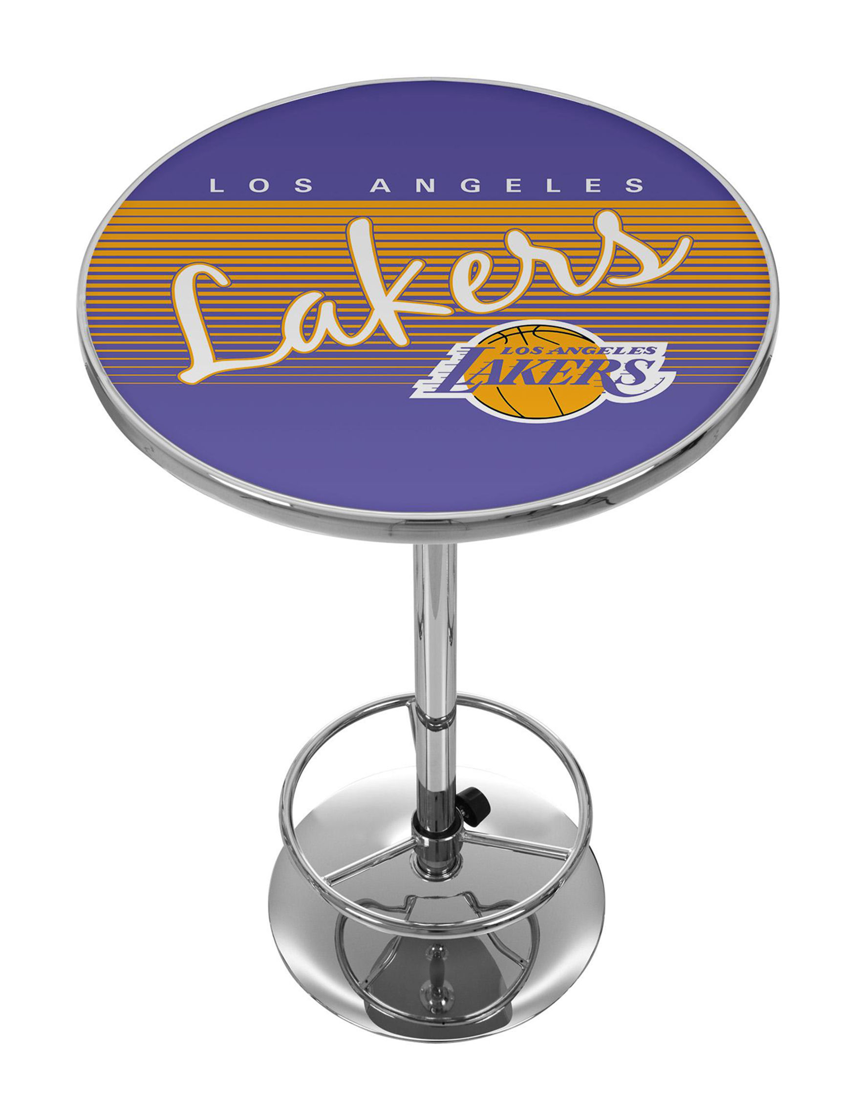 NBA Purple / Gold Dining Tables Kitchen & Dining Furniture NBA