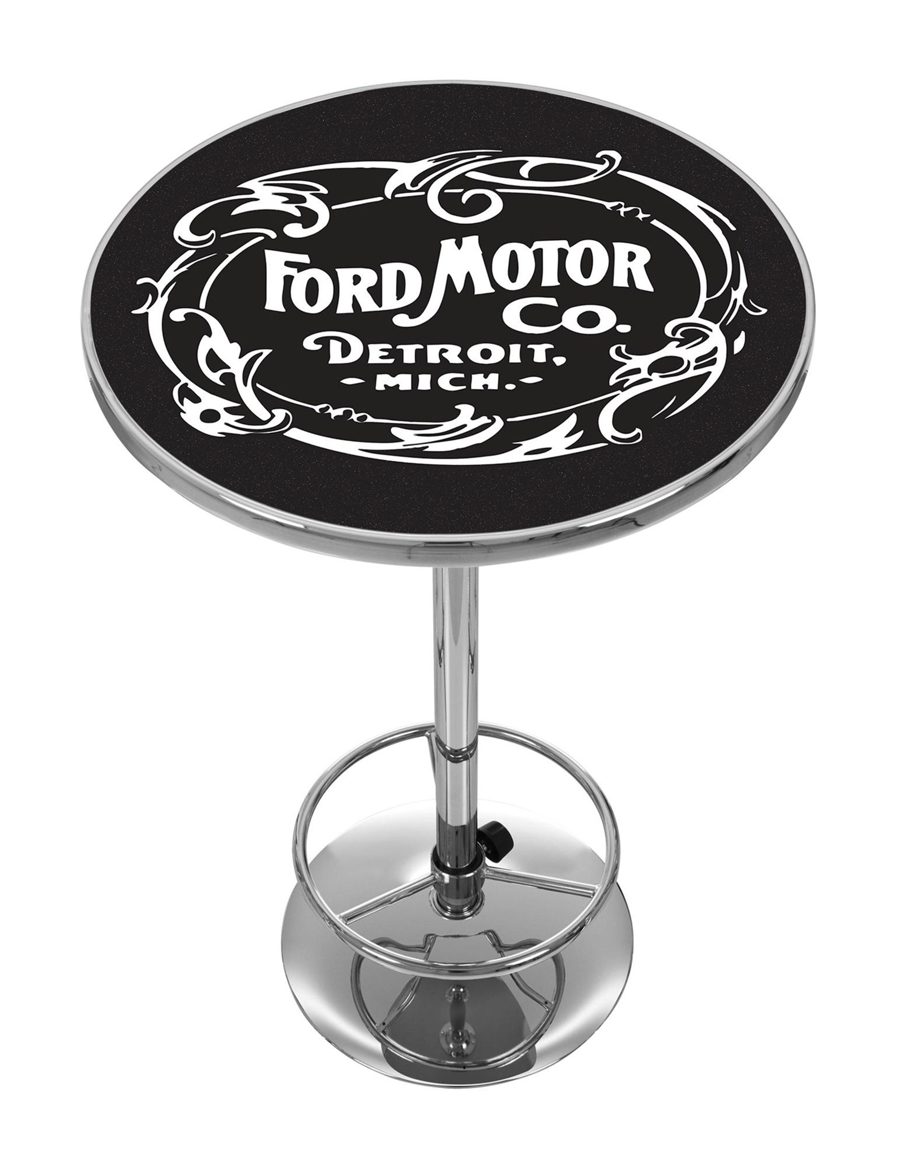 Ford Black / White Dining Tables Kitchen & Dining Furniture