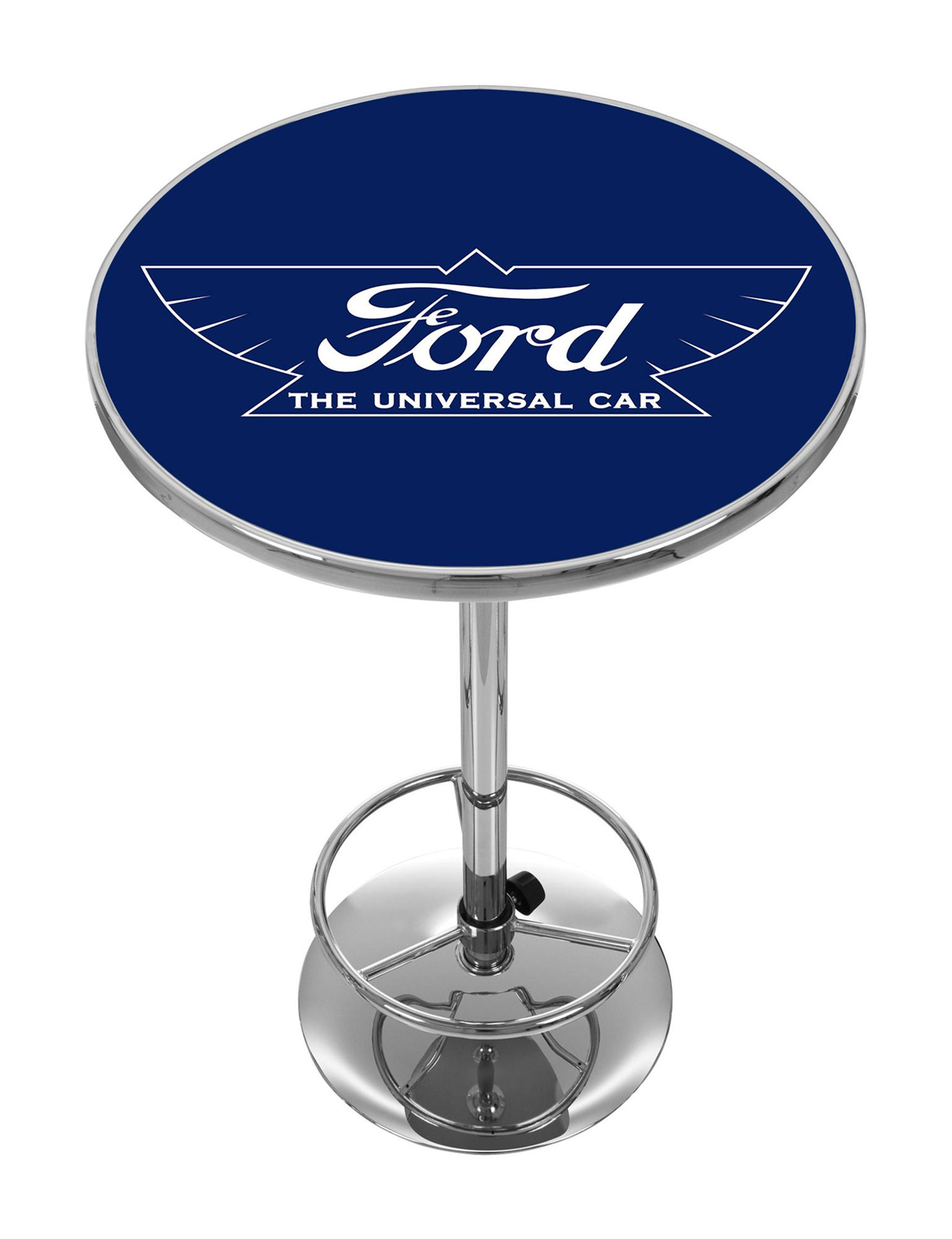 Ford Blue / White Dining Tables Kitchen & Dining Furniture