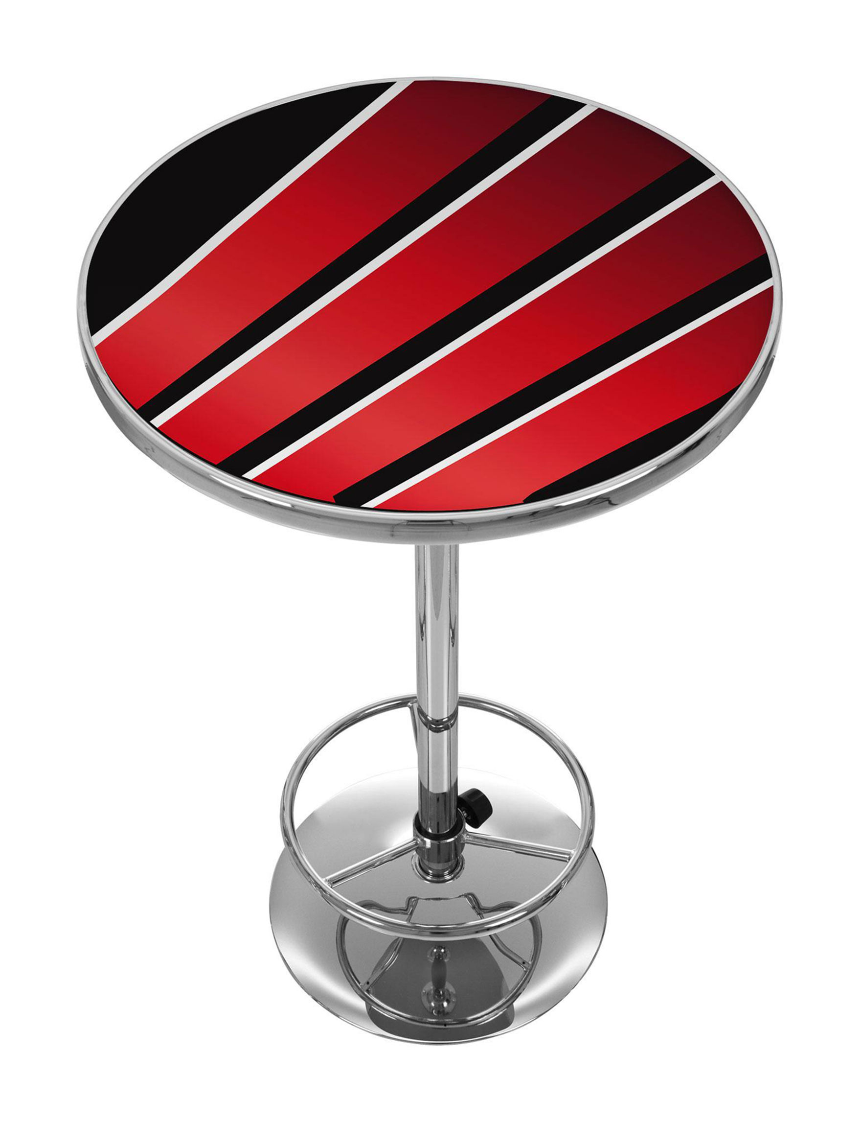 Trademark Global Red / Black Dining Tables Kitchen & Dining Furniture