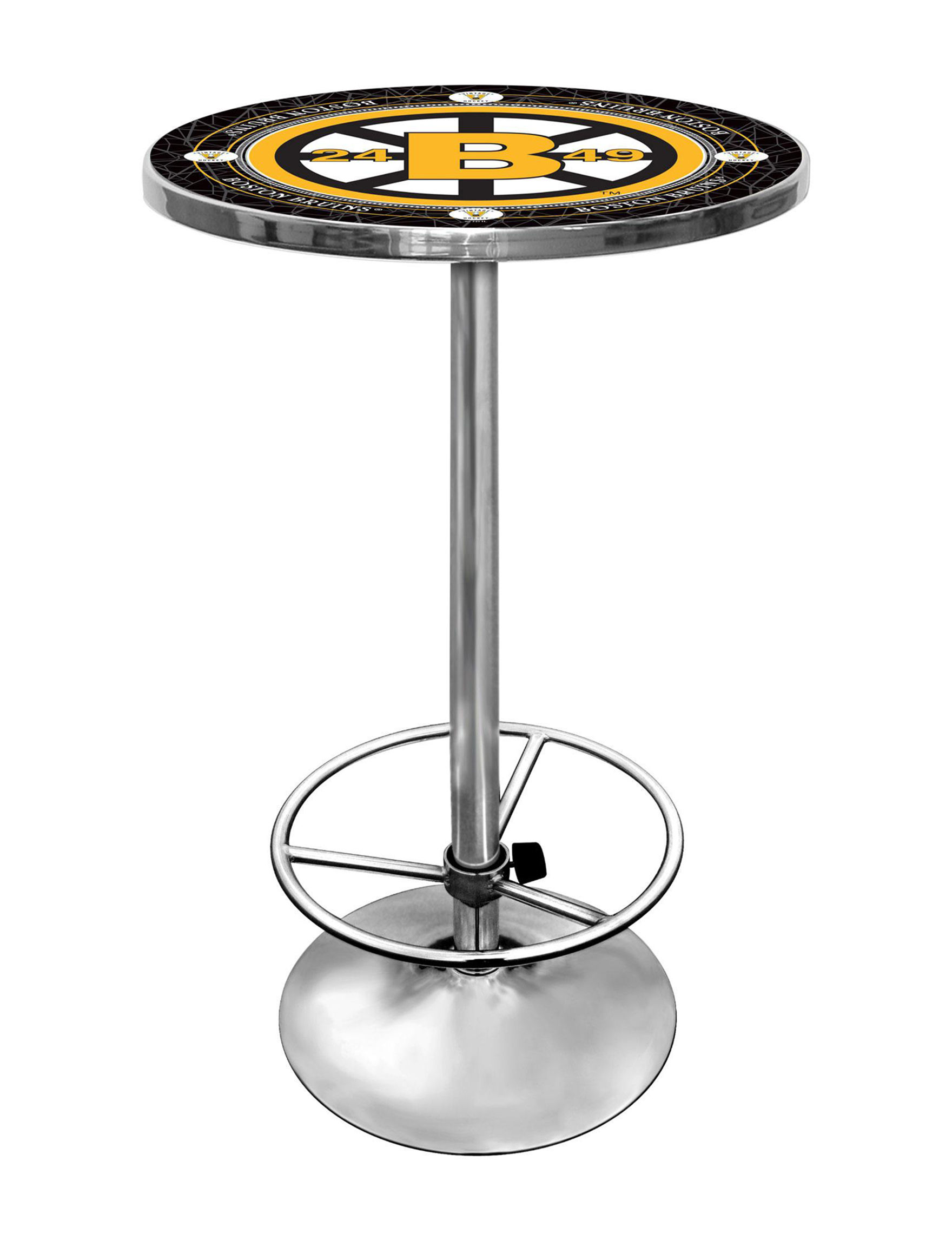 NHL Black / Yellow Dining Tables Kitchen & Dining Furniture NHL