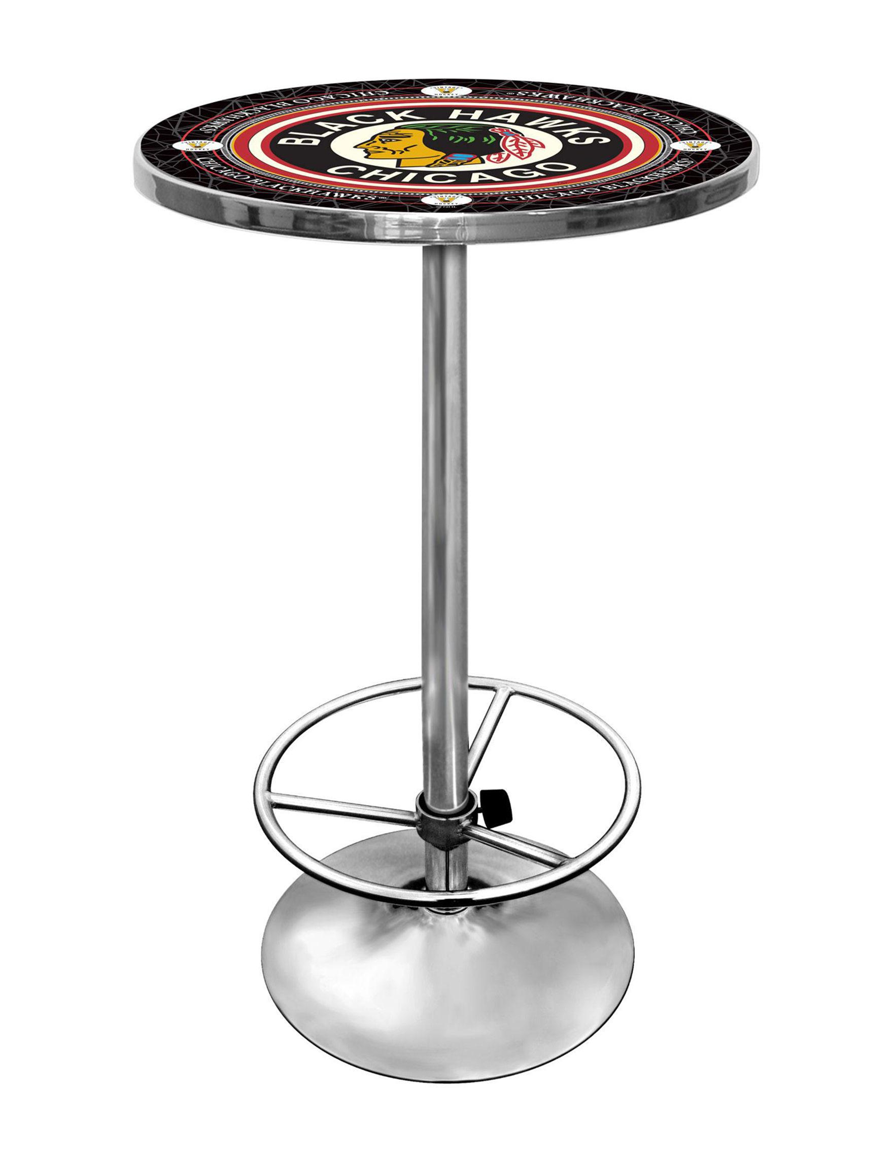 NHL Black Multi Dining Tables Kitchen & Dining Furniture