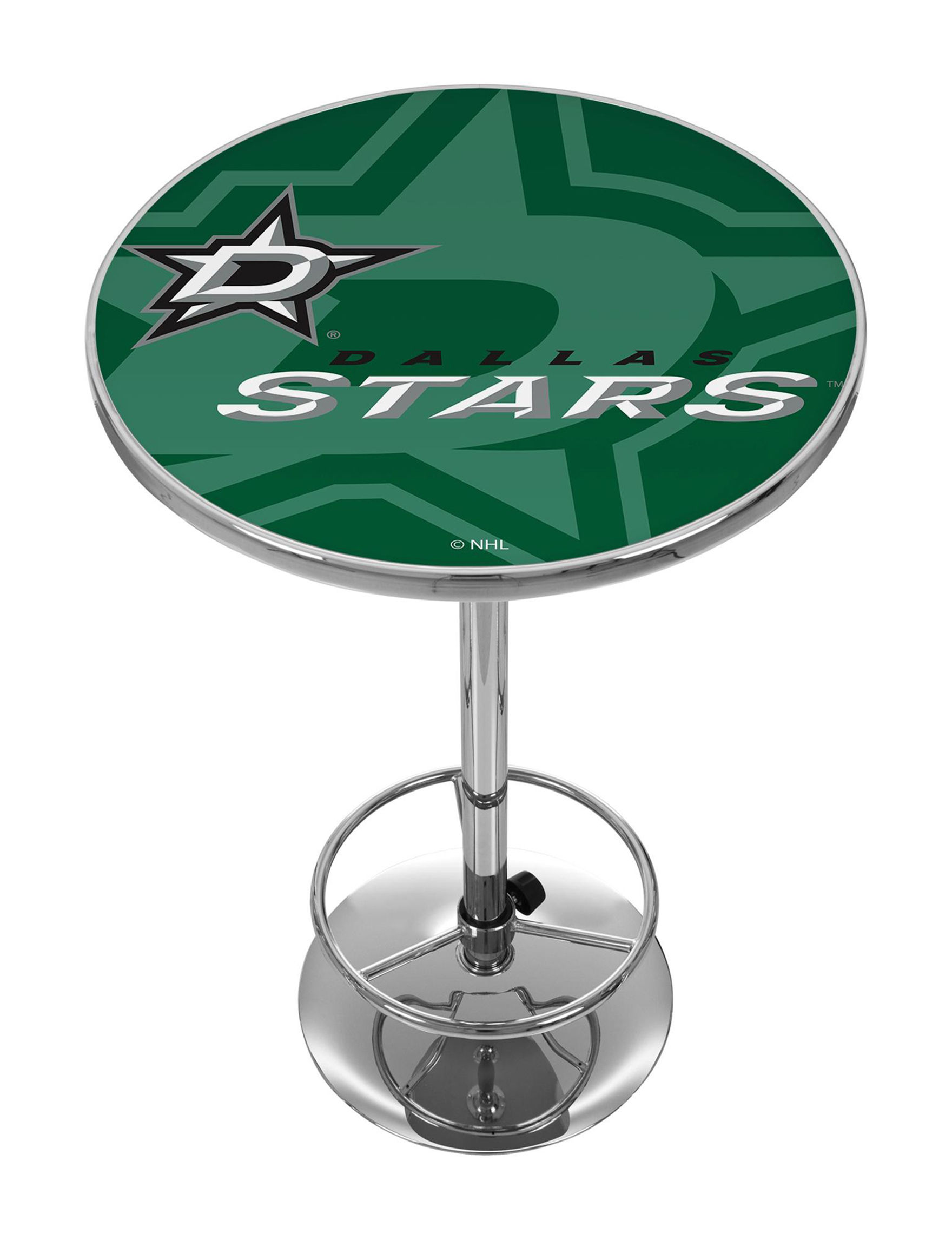 NHL Green / White Dining Tables Kitchen & Dining Furniture