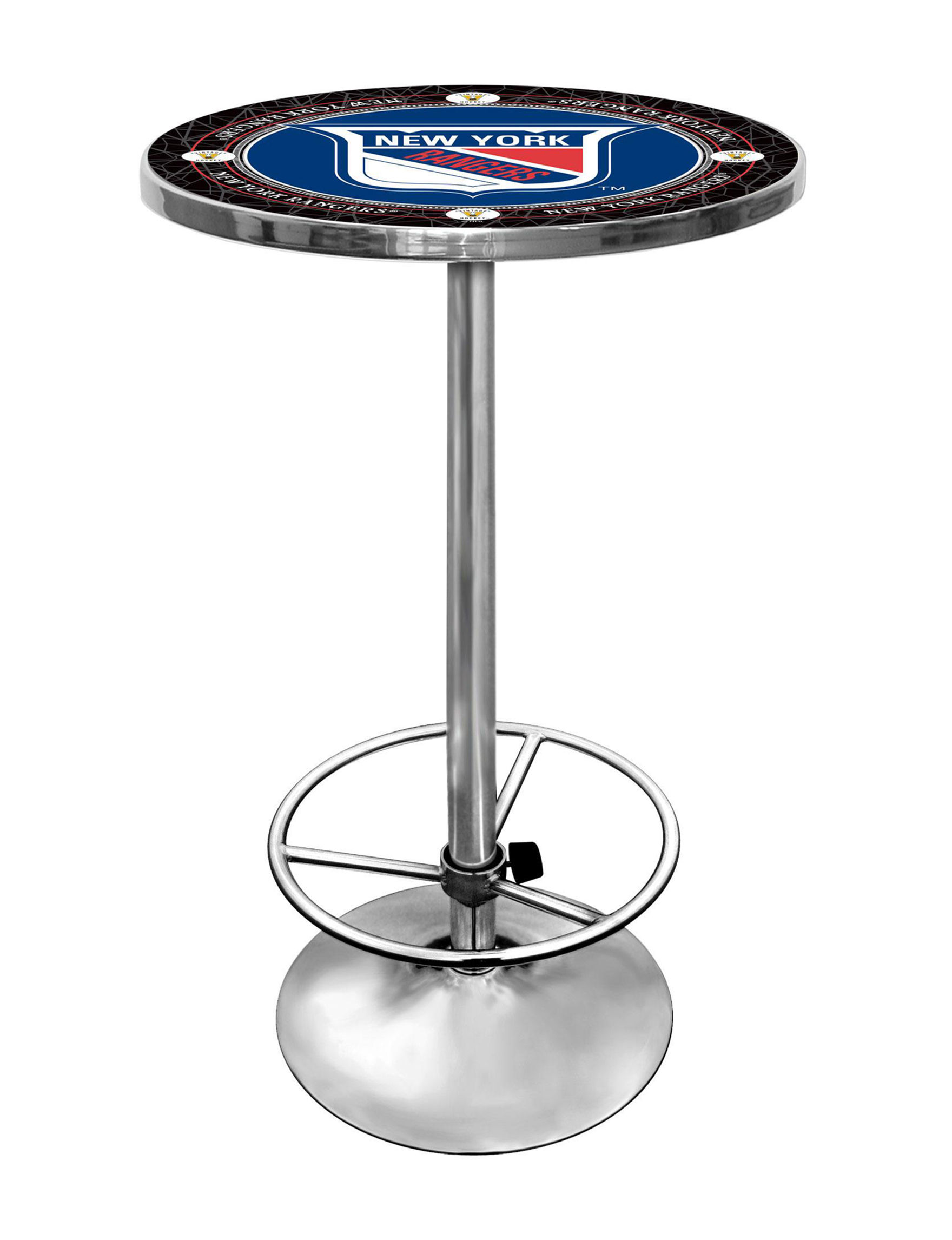 NHL Red / White / Blue Dining Tables Kitchen & Dining Furniture