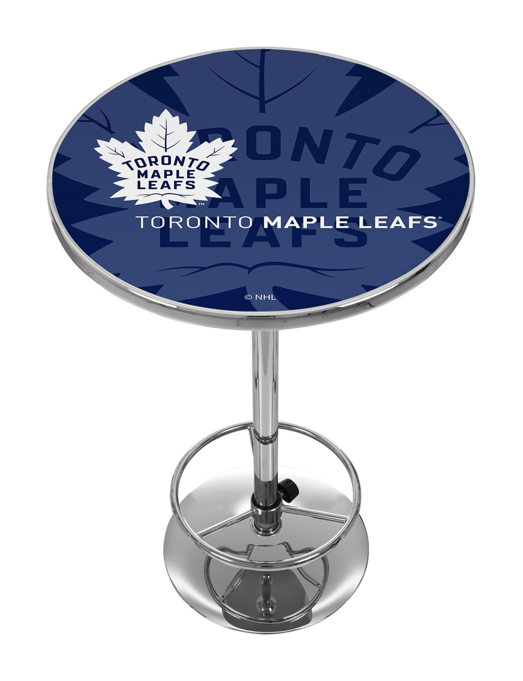 NHL Blue / White Dining Tables Kitchen & Dining Furniture NHL