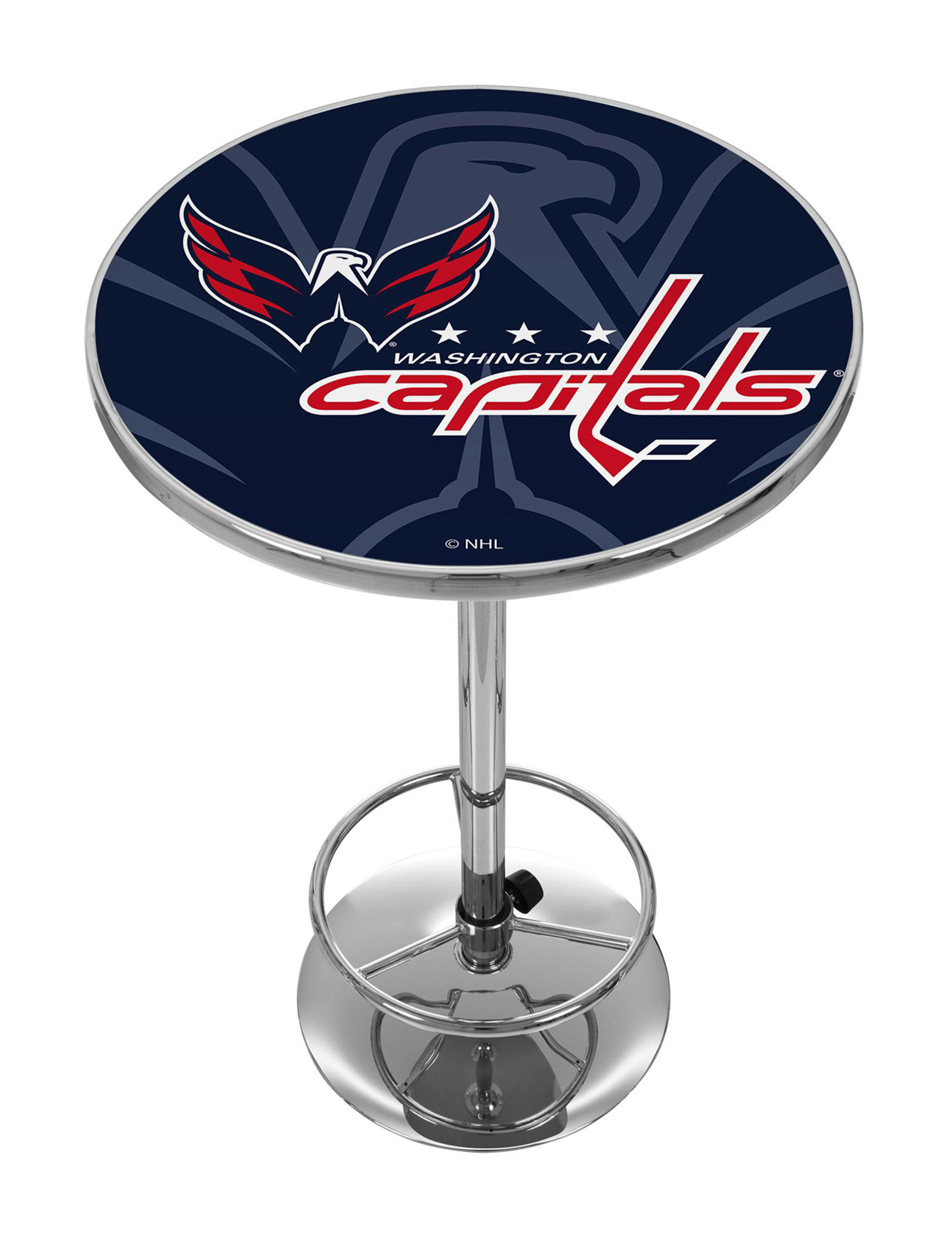 NHL Red / White / Blue Dining Tables Kitchen & Dining Furniture NHL