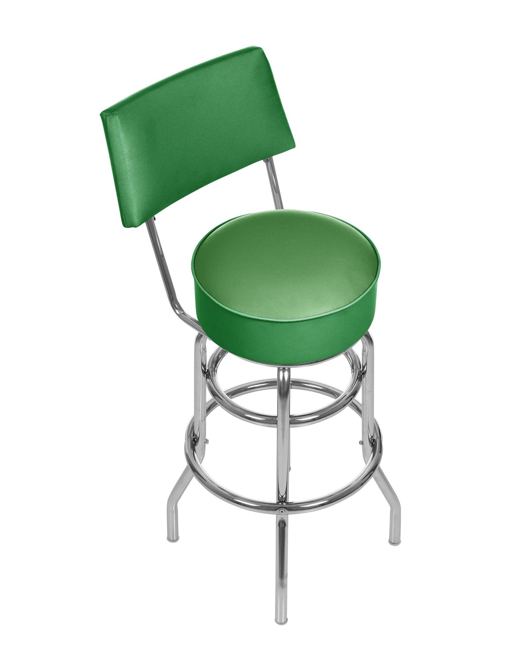 Trademark Global Green Bar & Kitchen Stools Kitchen & Dining Furniture