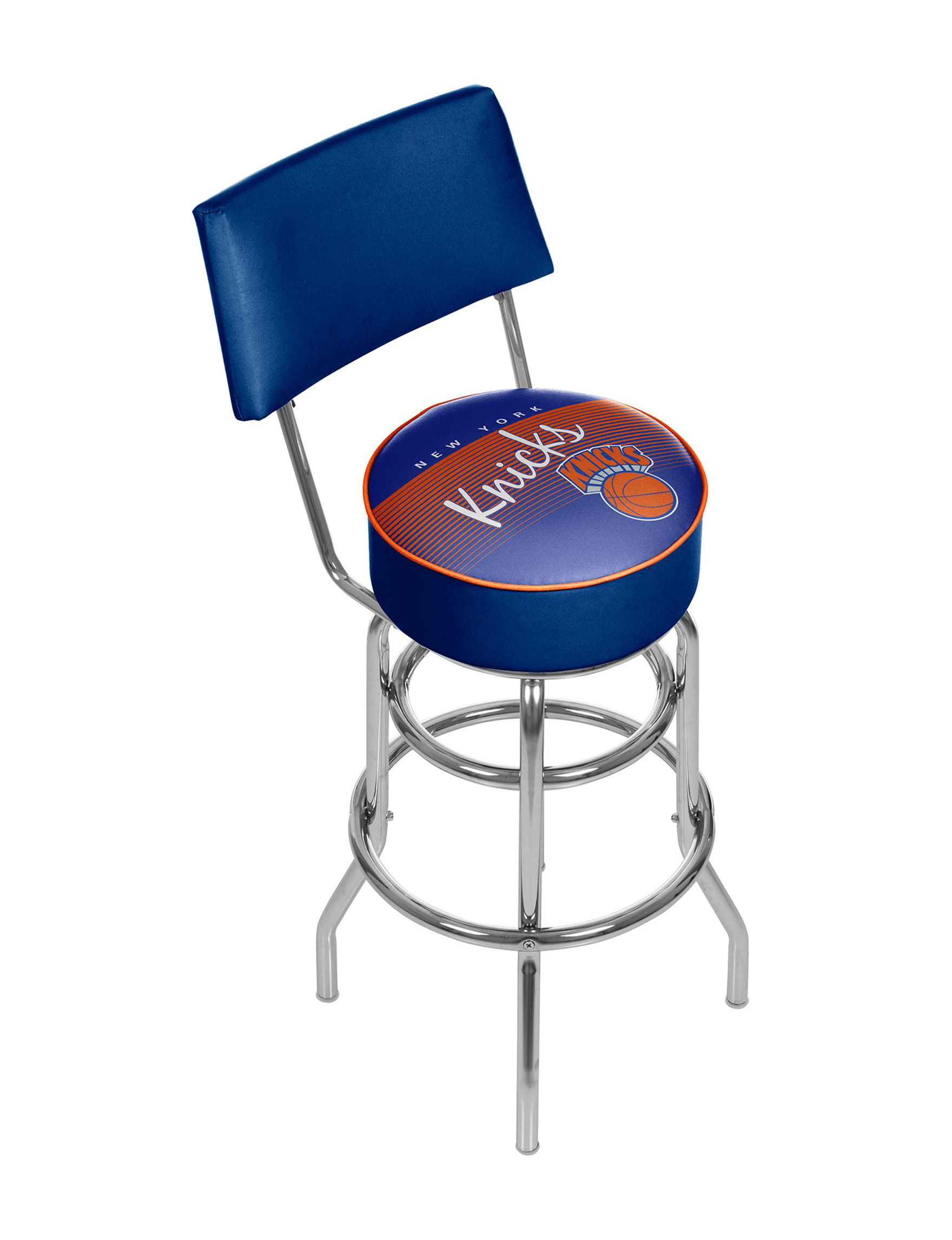 Trademark Global Blue / Orange Bar & Kitchen Stools Kitchen & Dining Furniture