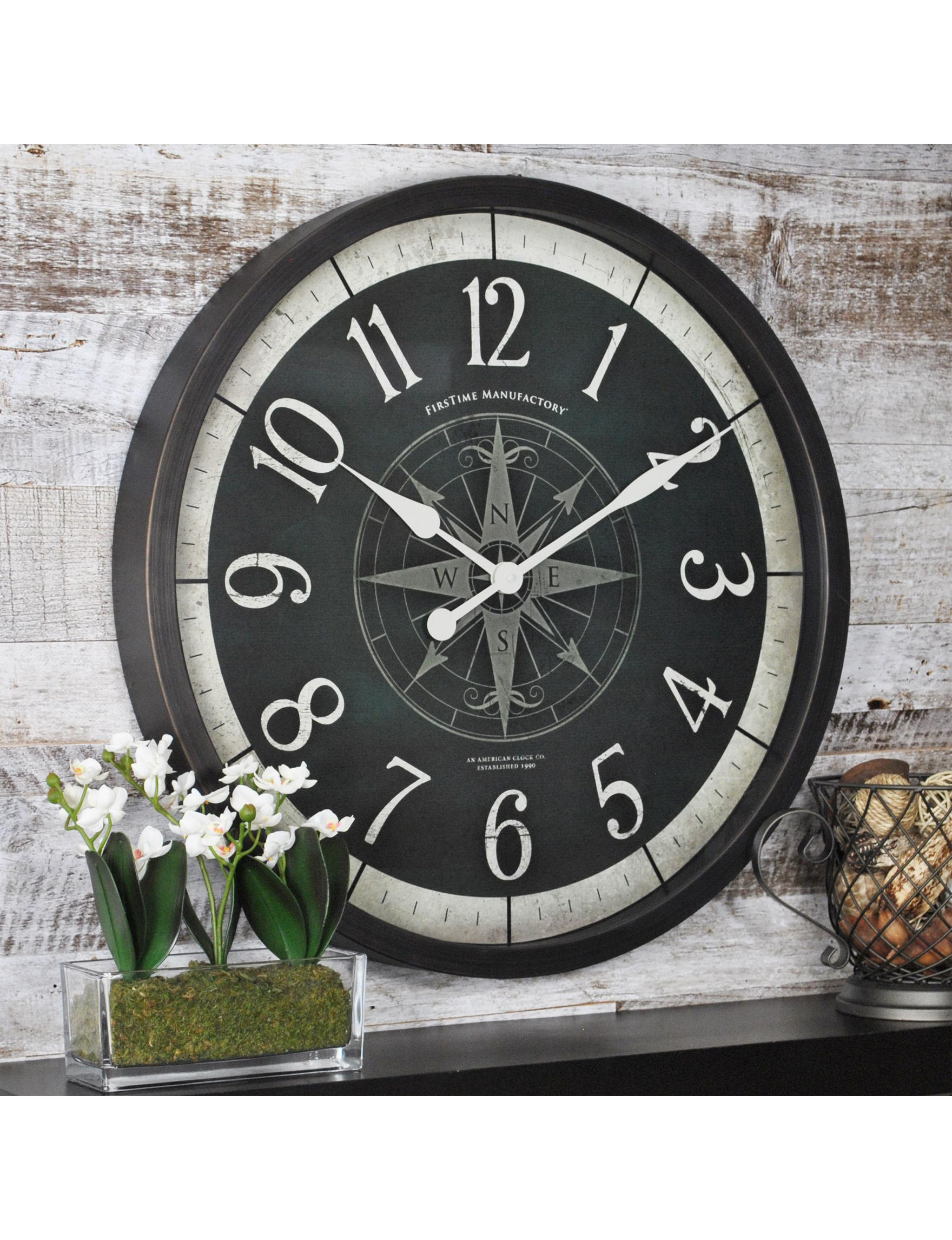 Firstime Manufactory Bronze Wall Clocks Wall Decor