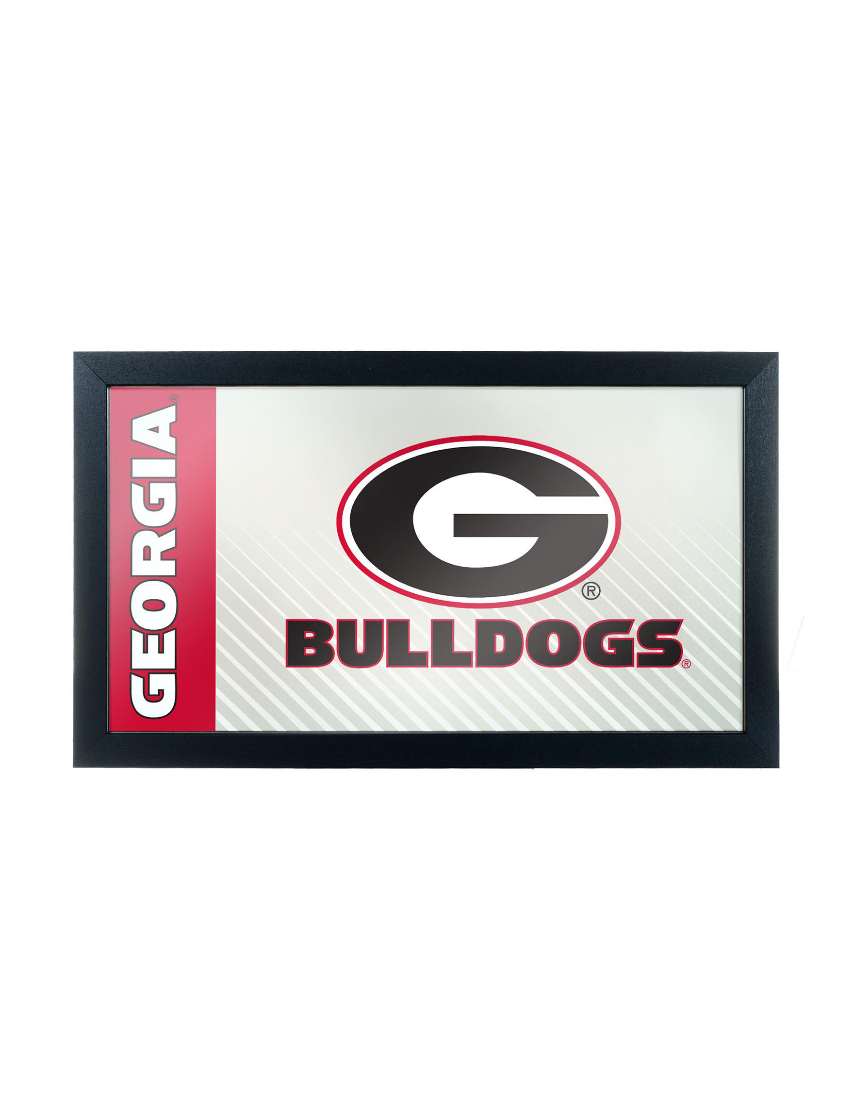 NCAA Red / Black / White Home Accents Wall Decor
