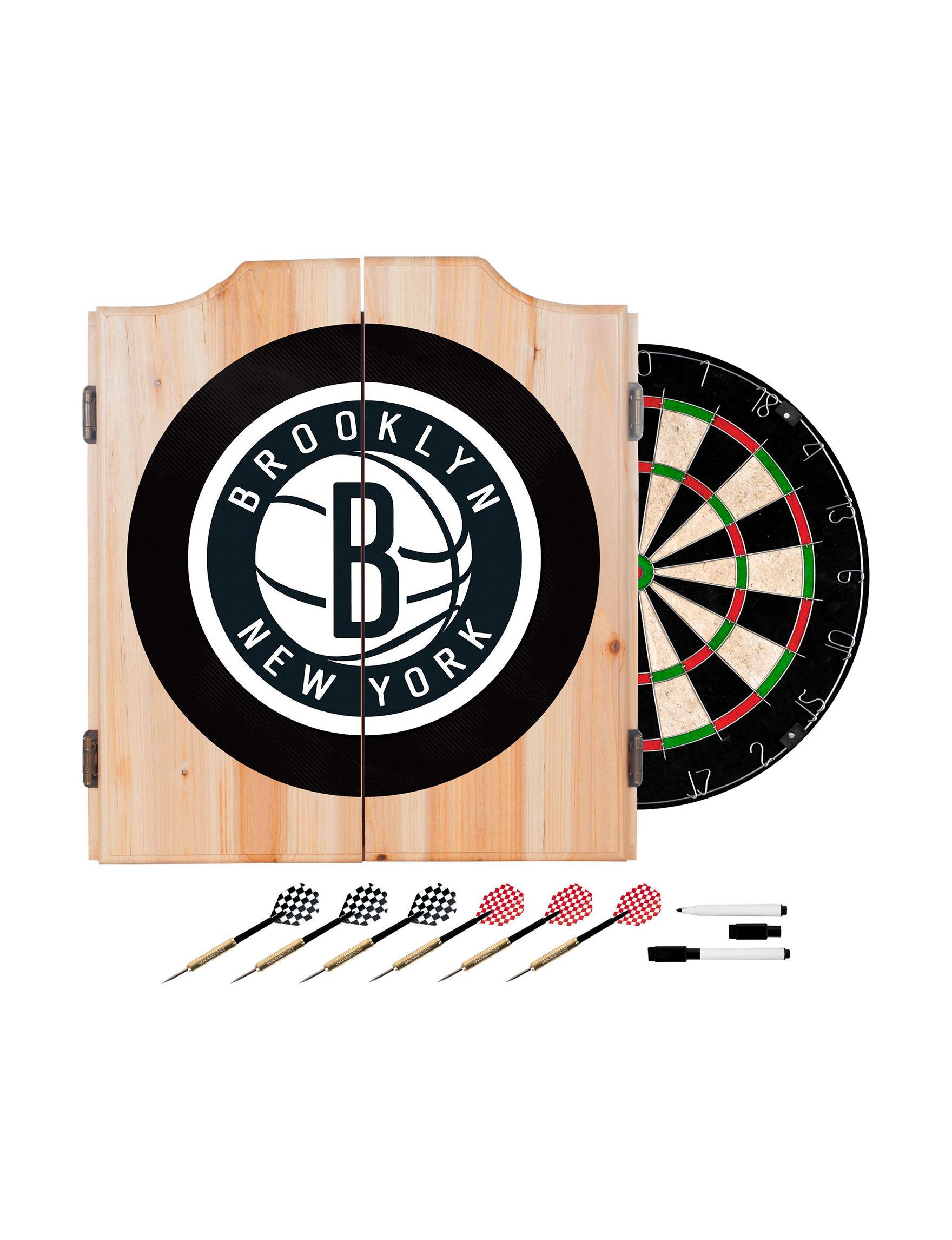 NBA Black/ White Game Room