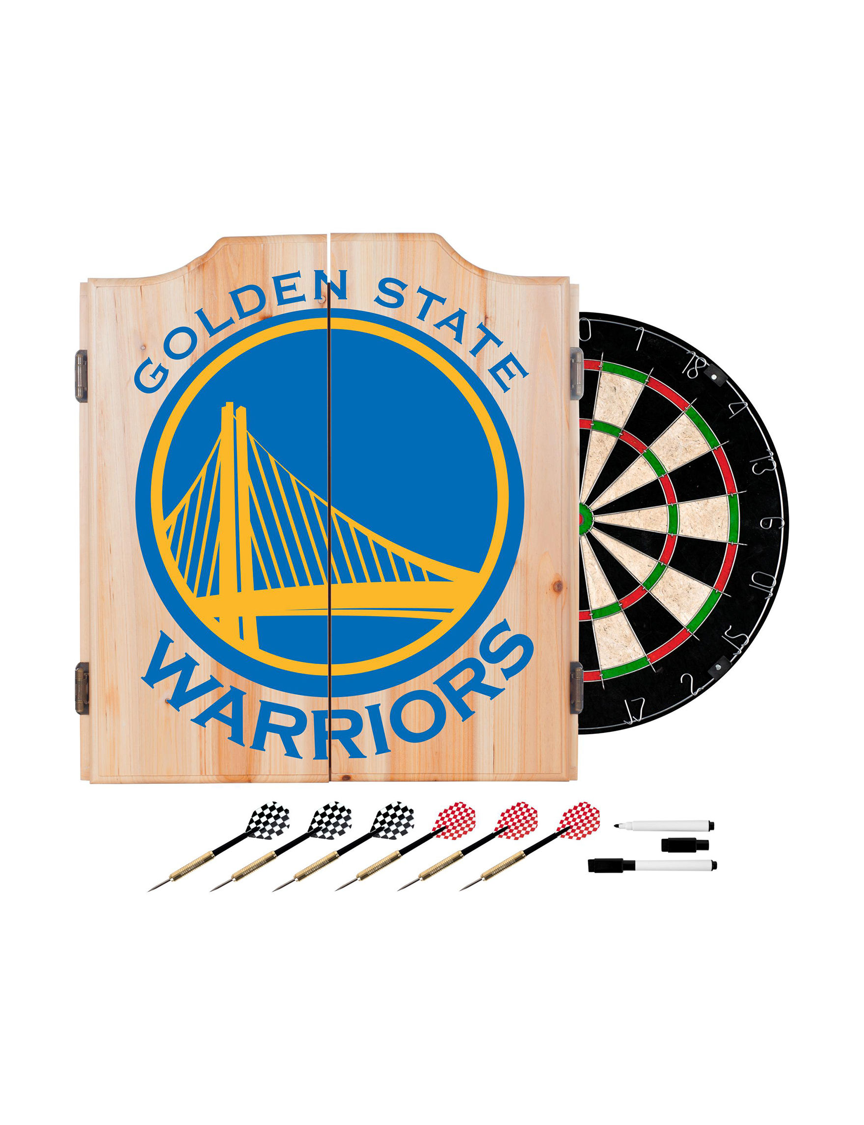 NBA Blue / Yellow Bar Accessories Game Room NBA